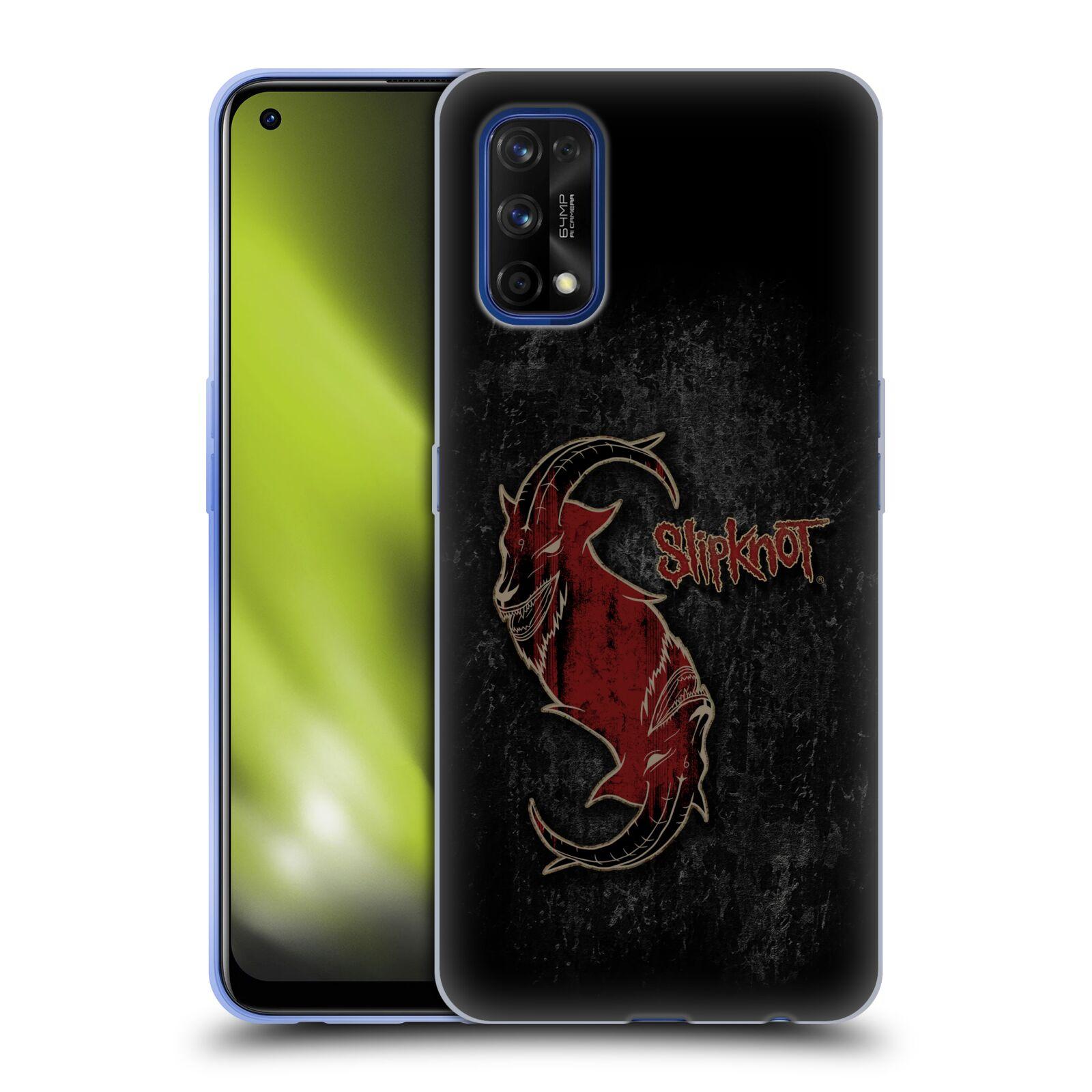 Silikonové pouzdro na mobil Realme 7 Pro - Head Case - Slipknot - Rudý kozel