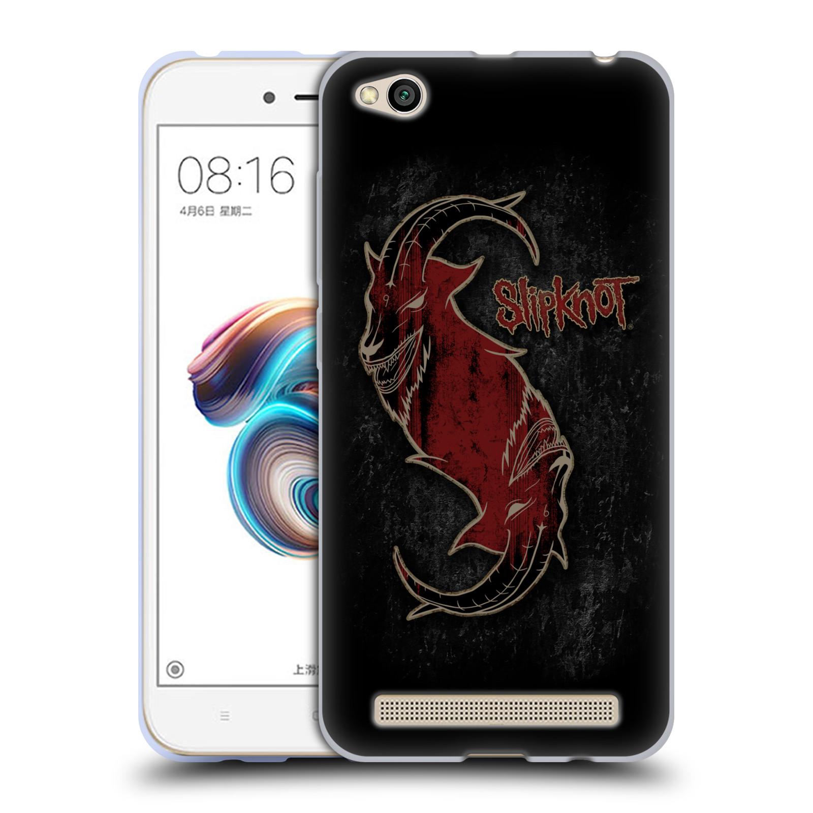 Silikonové pouzdro na mobil Xiaomi Redmi 5A - Head Case - Slipknot - Rudý kozel