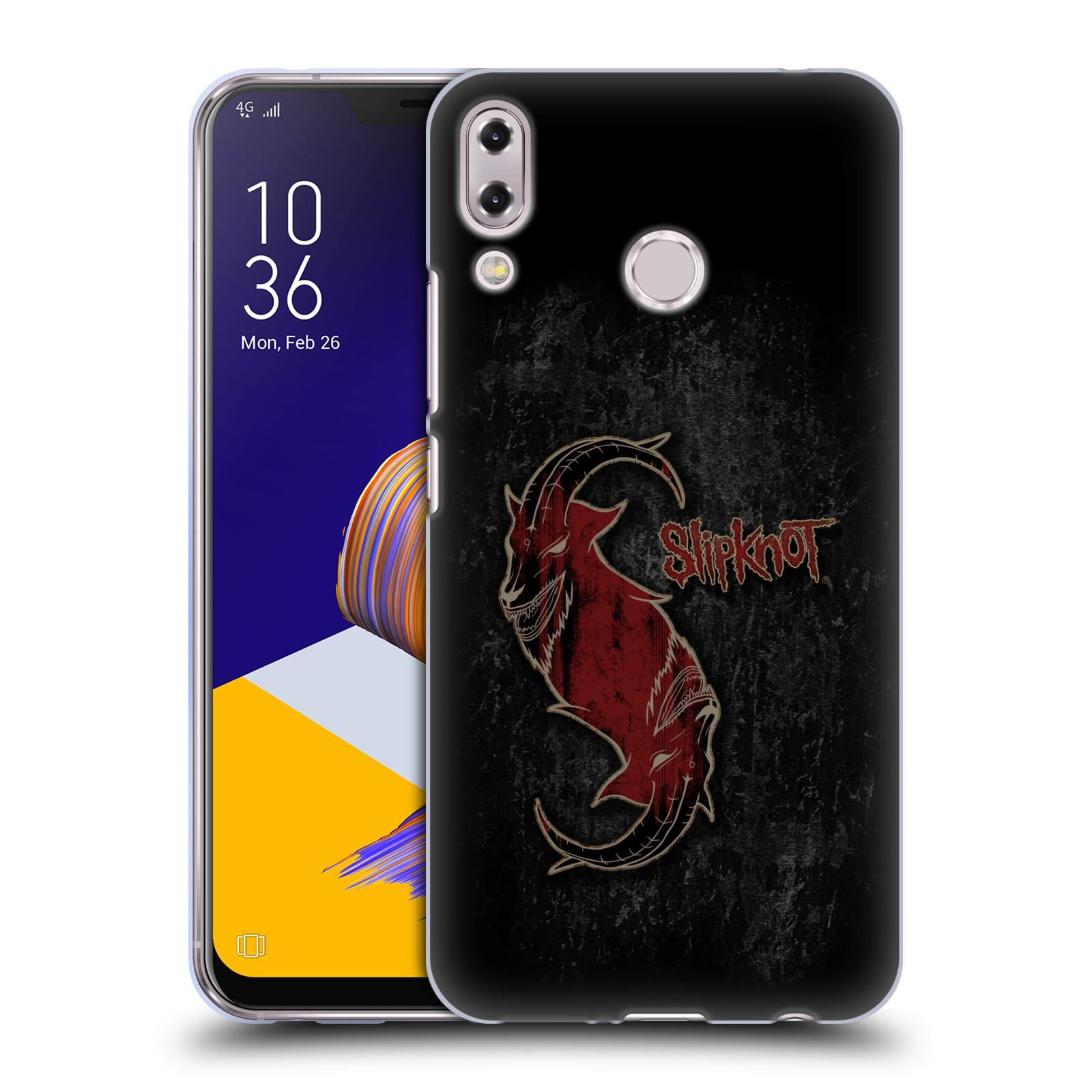 Silikonové pouzdro na mobil Asus ZenFone 5 ZE620KL - Head Case - Slipknot - Rudý kozel