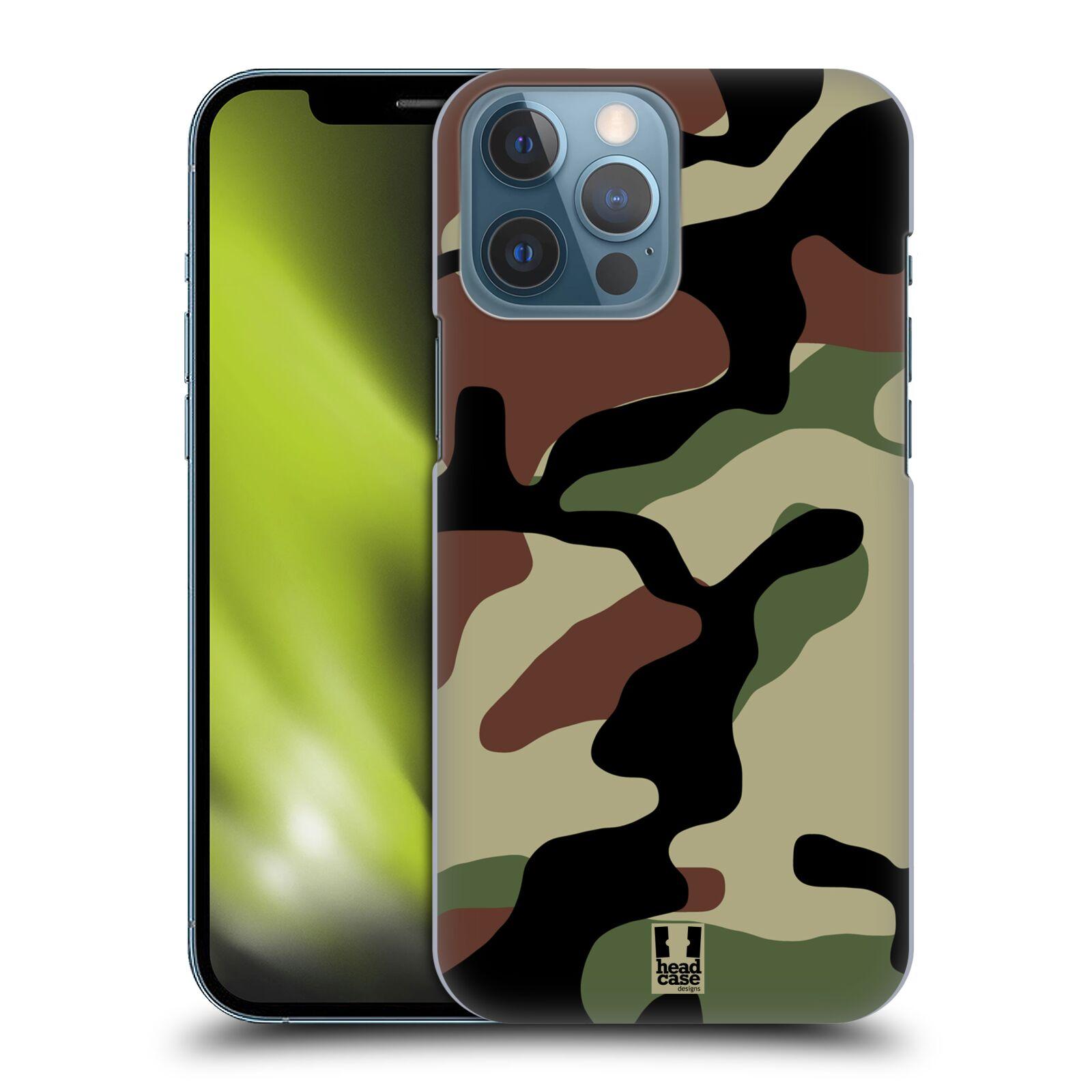 Plastové pouzdro na mobil Apple iPhone 13 Pro Max - Head Case - Maskáče