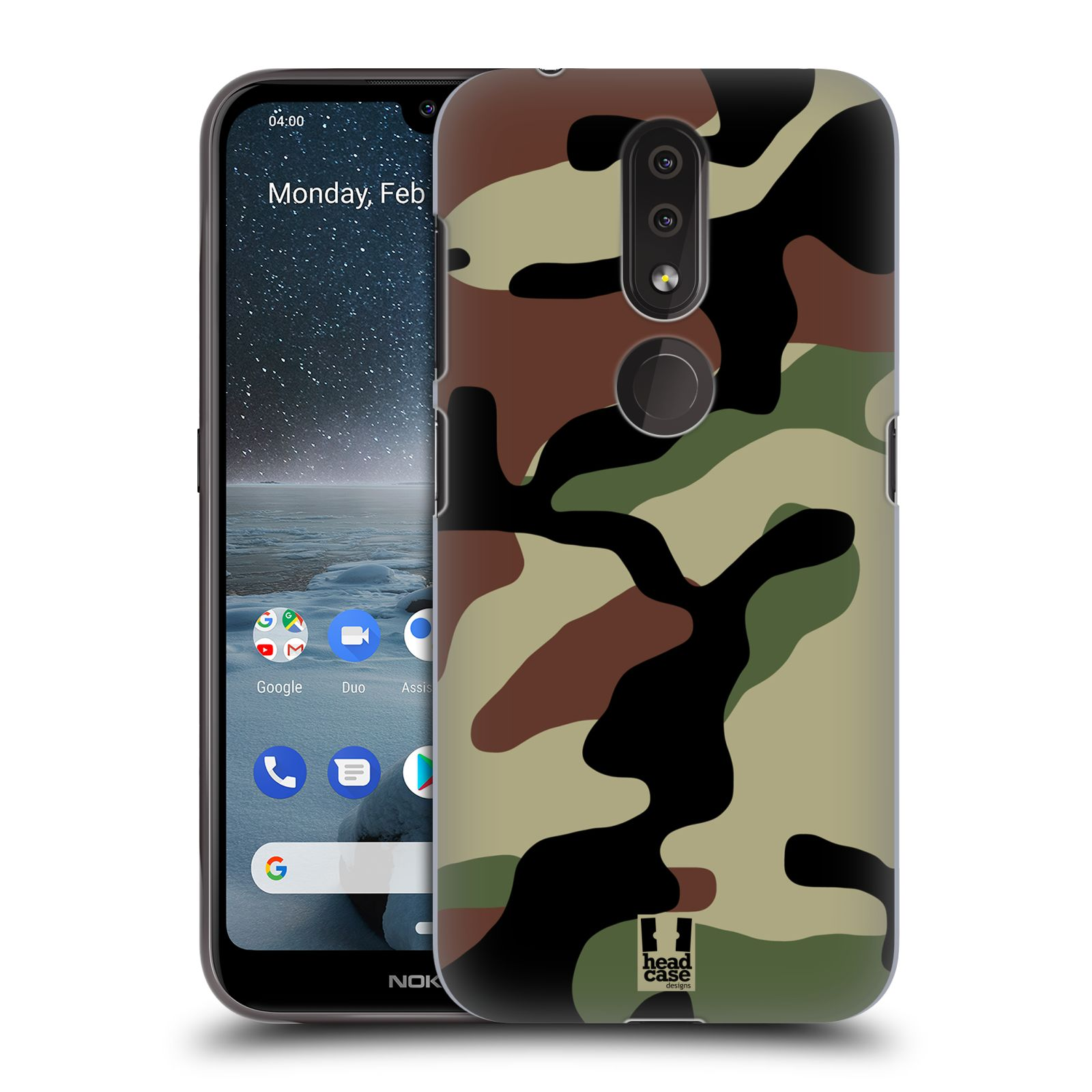 Plastové pouzdro na mobil Nokia 4.2 - Head Case - Maskáče