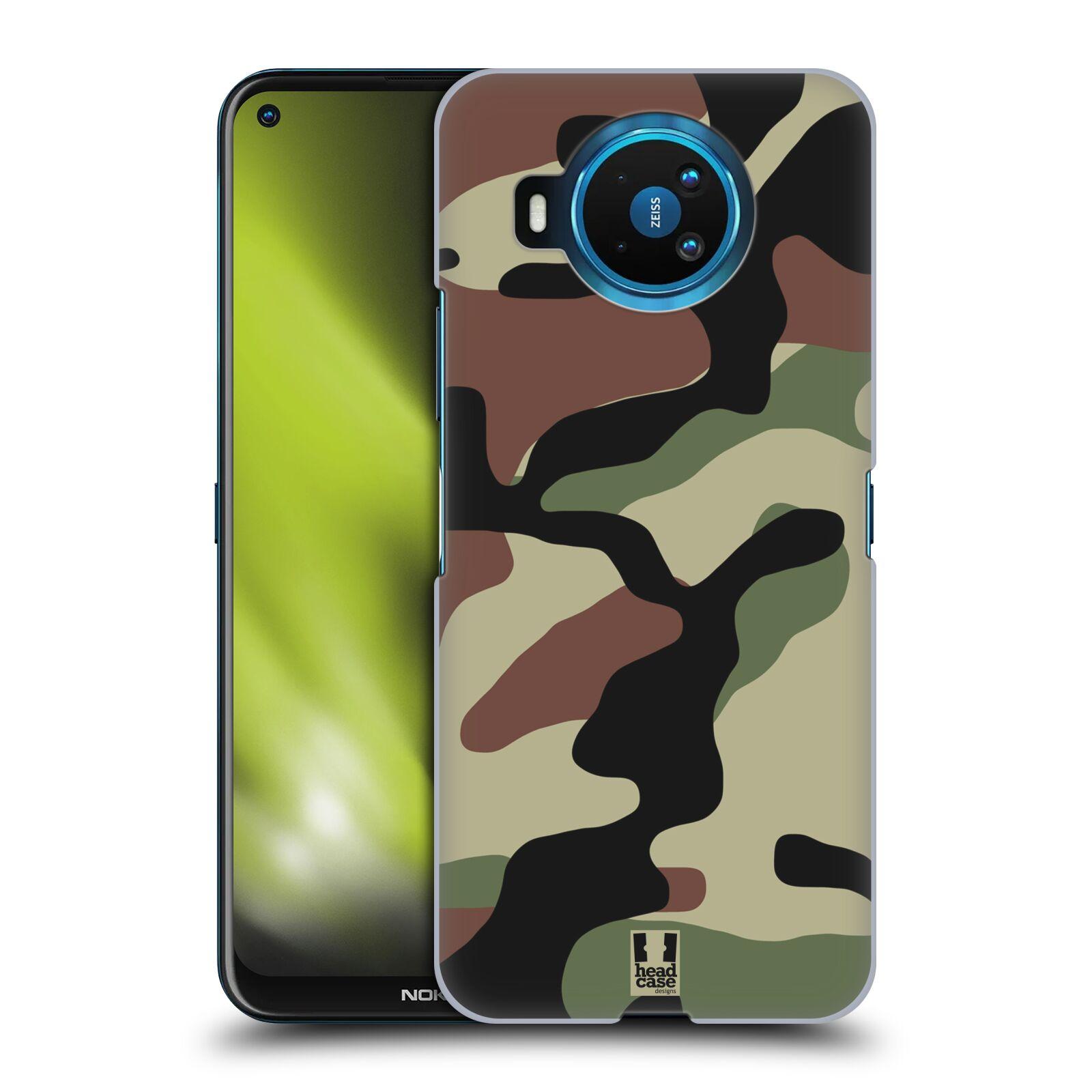 Plastové pouzdro na mobil Nokia 8.3 5G - Head Case - Maskáče