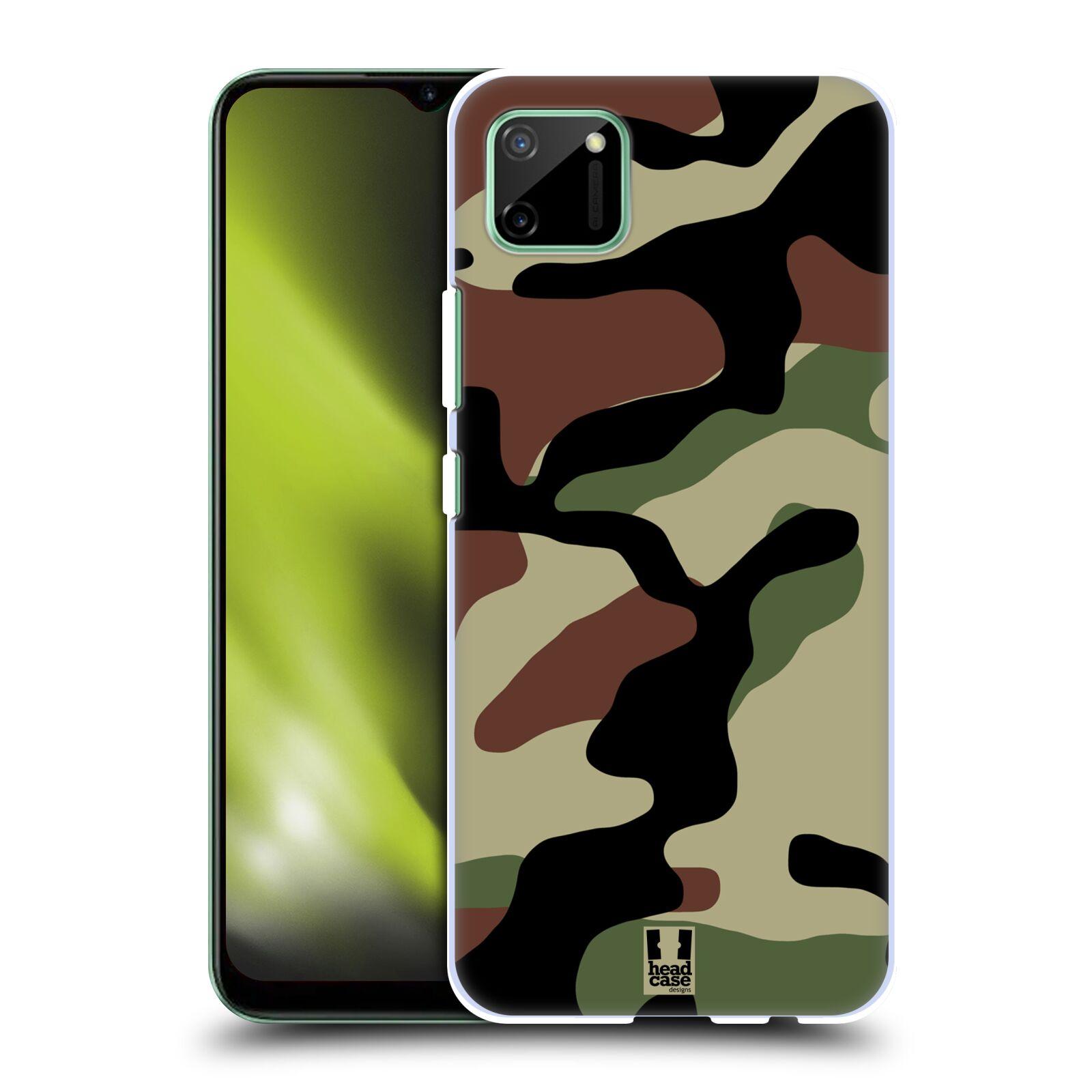 Plastové pouzdro na mobil Realme C11 - Head Case - Maskáče