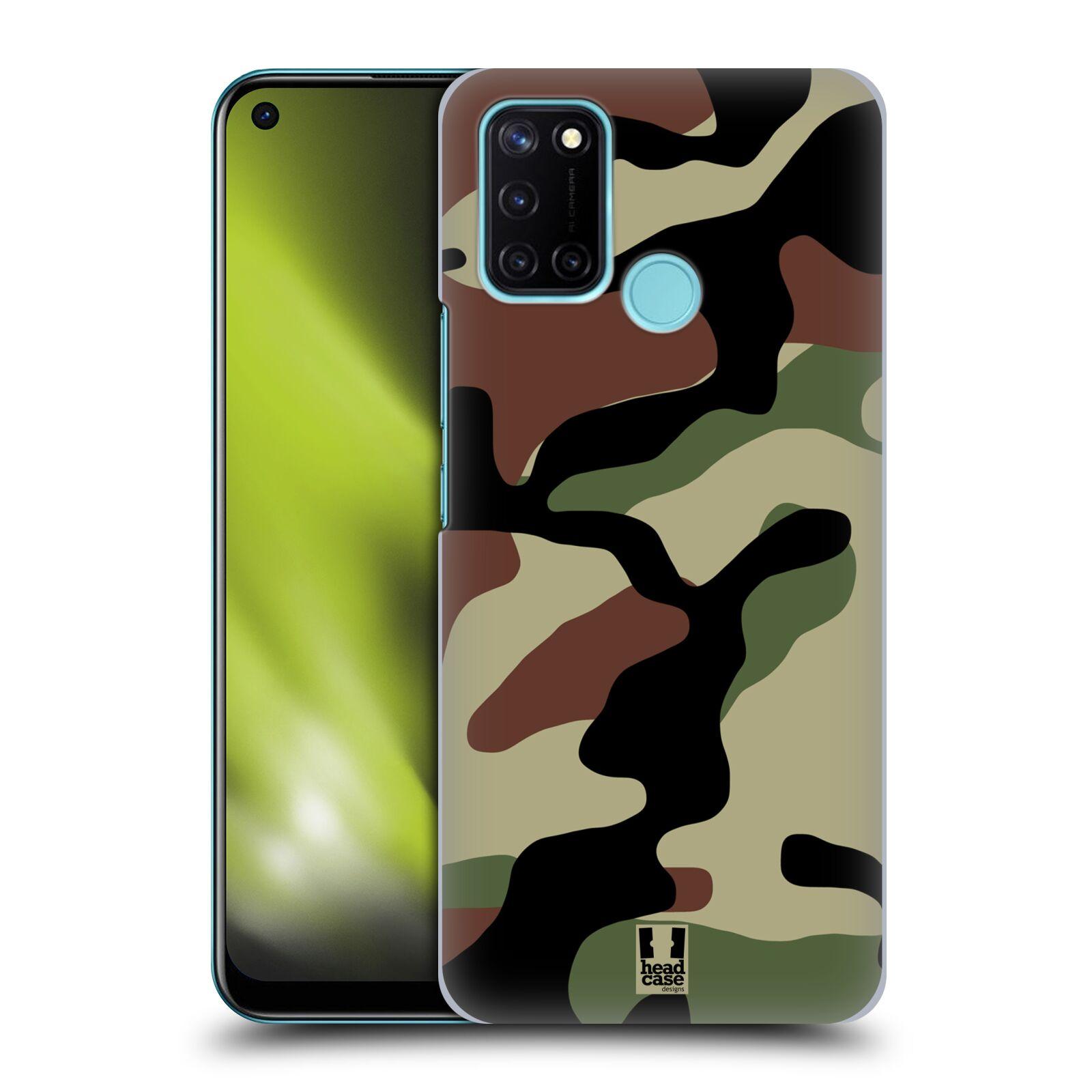 Plastové pouzdro na mobil Realme 7i - Head Case - Maskáče