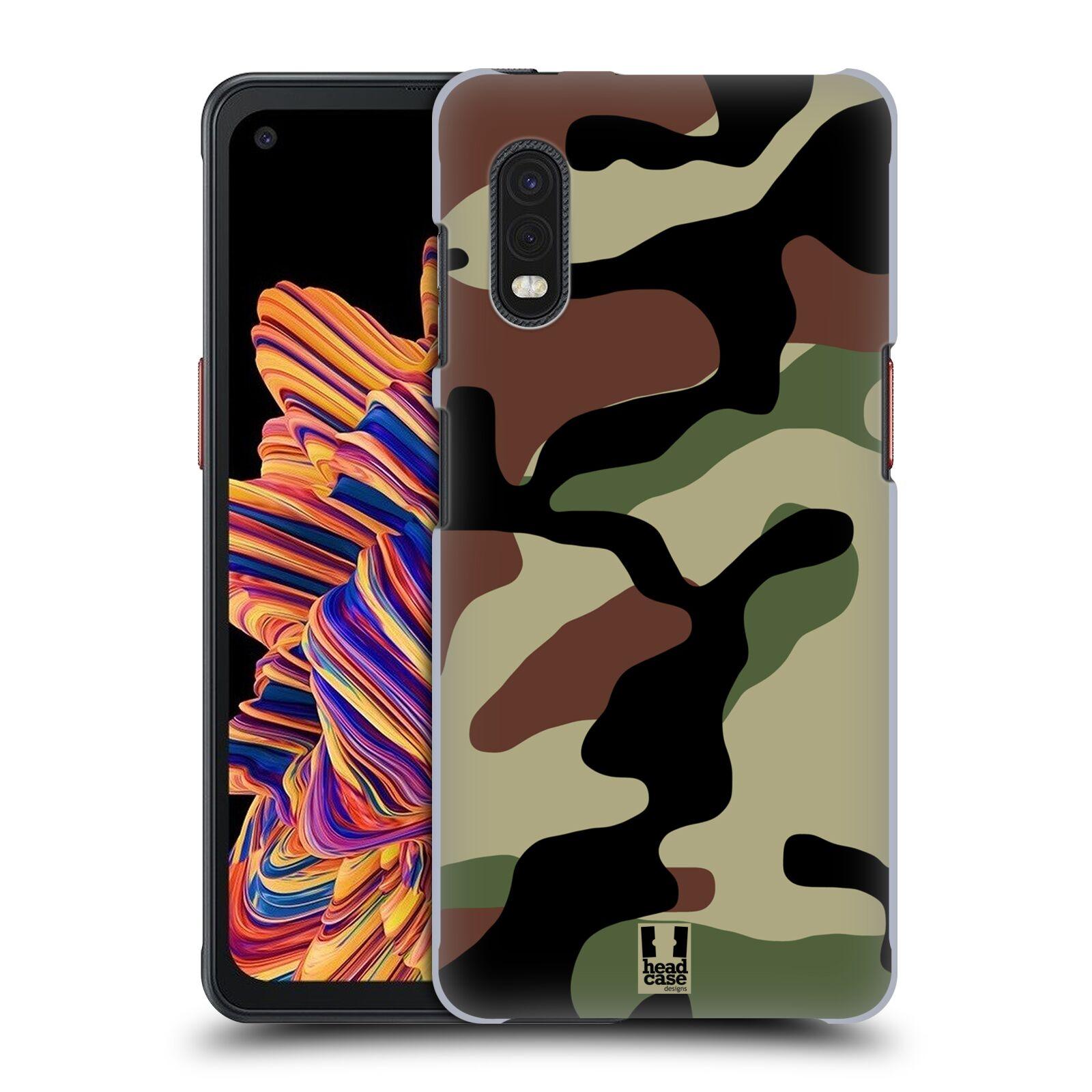 Plastové pouzdro na mobil Samsung Galaxy Xcover Pro - Head Case - Maskáče