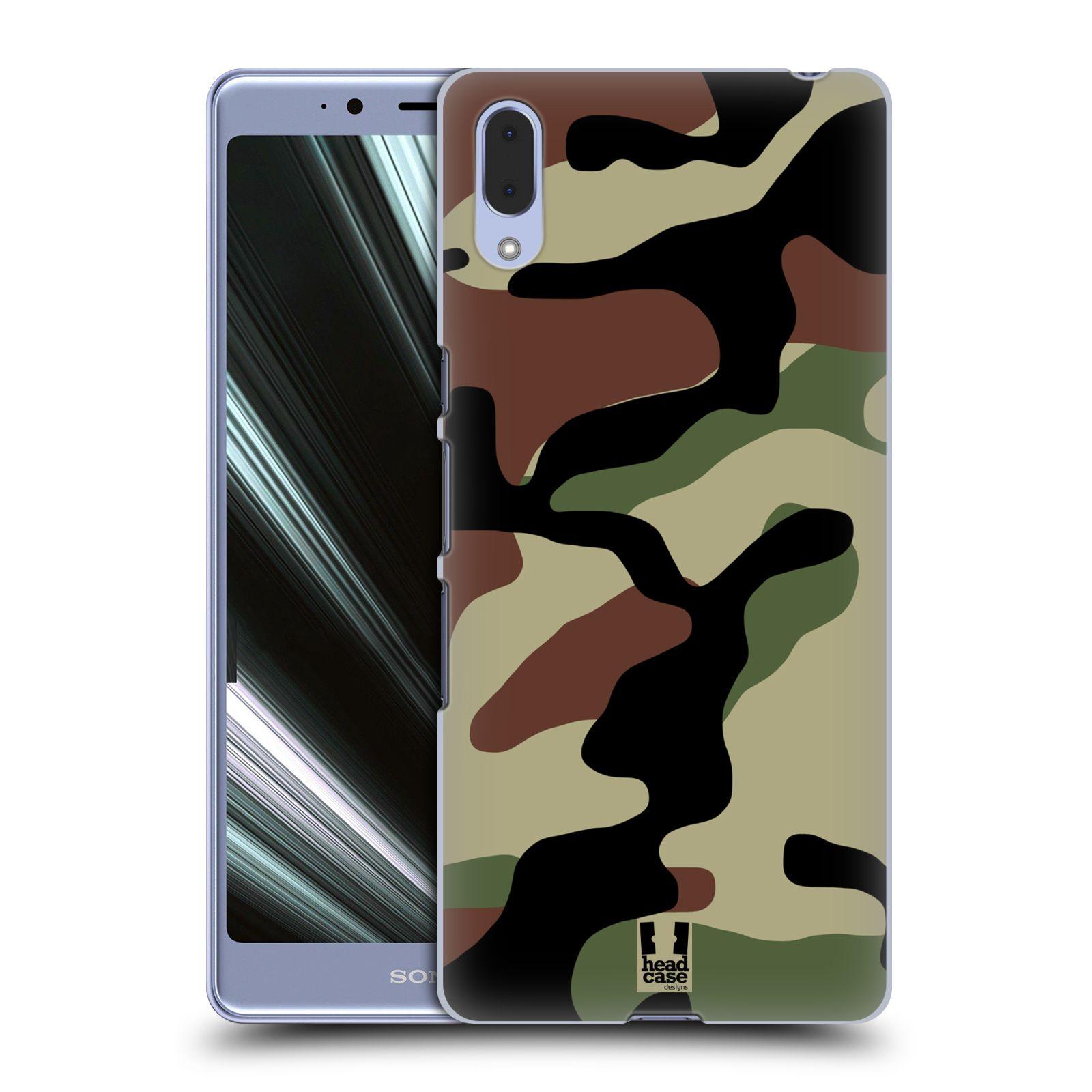 Plastové pouzdro na mobil Sony Xperia L3 - Head Case - Maskáče