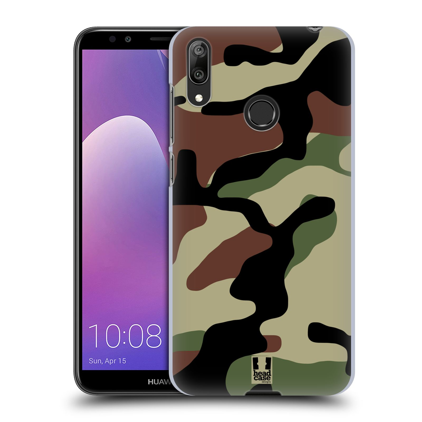 Plastové pouzdro na mobil Huawei Y7 (2019) - Head Case - Maskáče