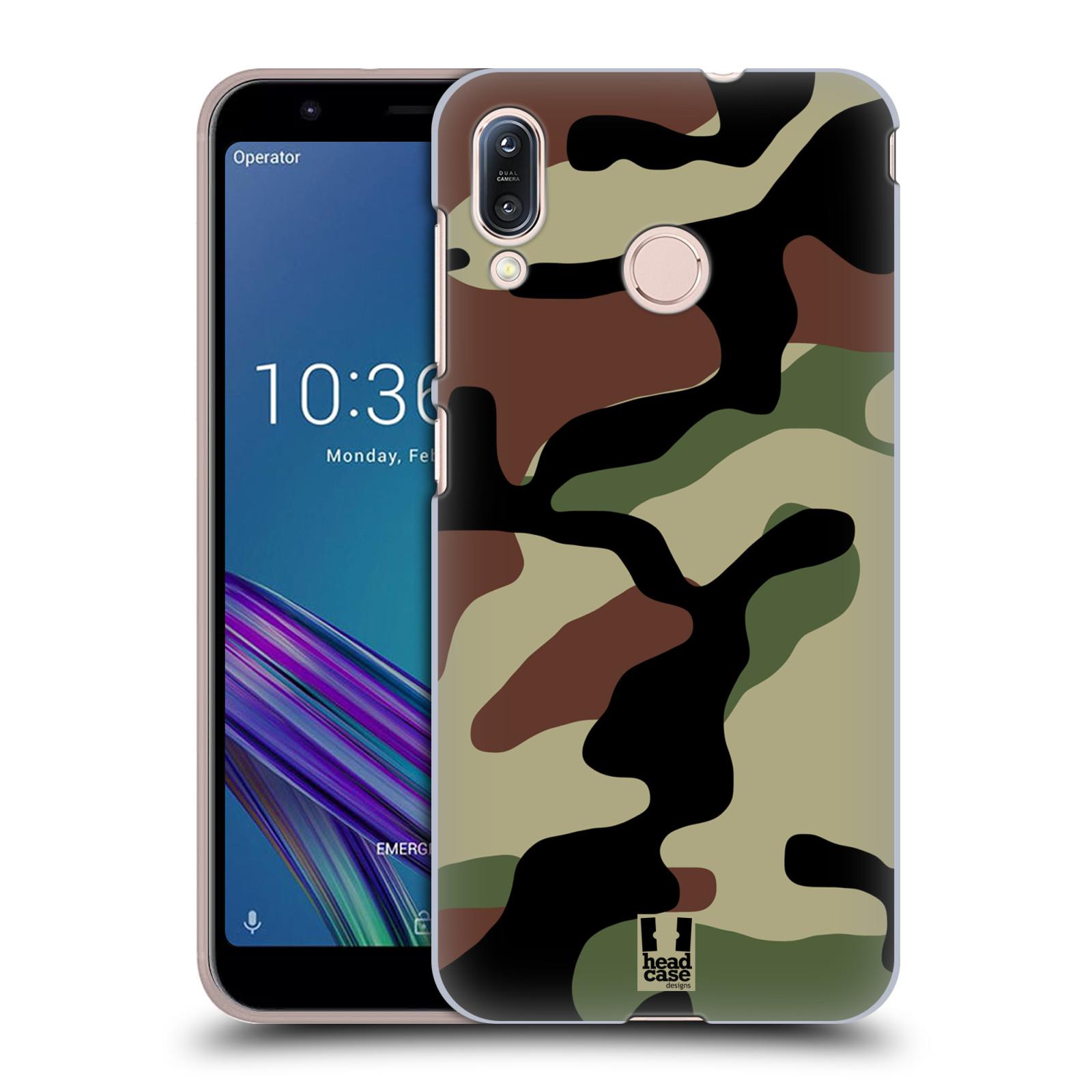 Plastové pouzdro na mobil Asus Zenfone Max M1 ZB555KL - Head Case - Maskáče