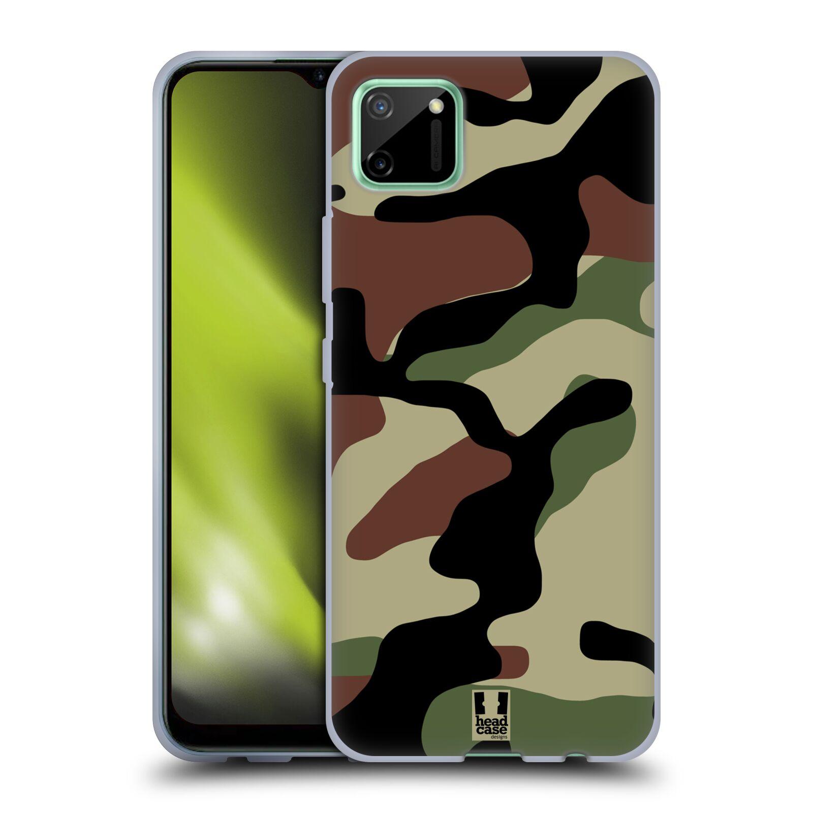 Silikonové pouzdro na mobil Realme C11 - Head Case - Maskáče