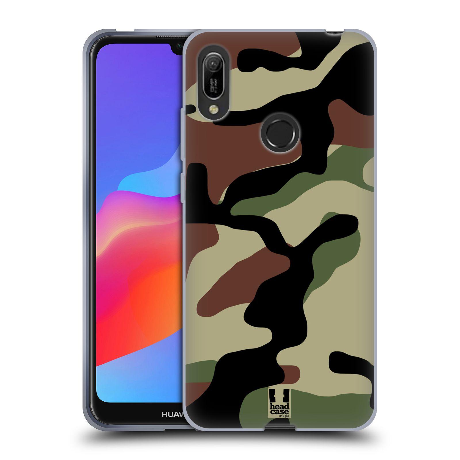 Silikonové pouzdro na mobil Huawei Y6 (2019) - Head Case - Maskáče