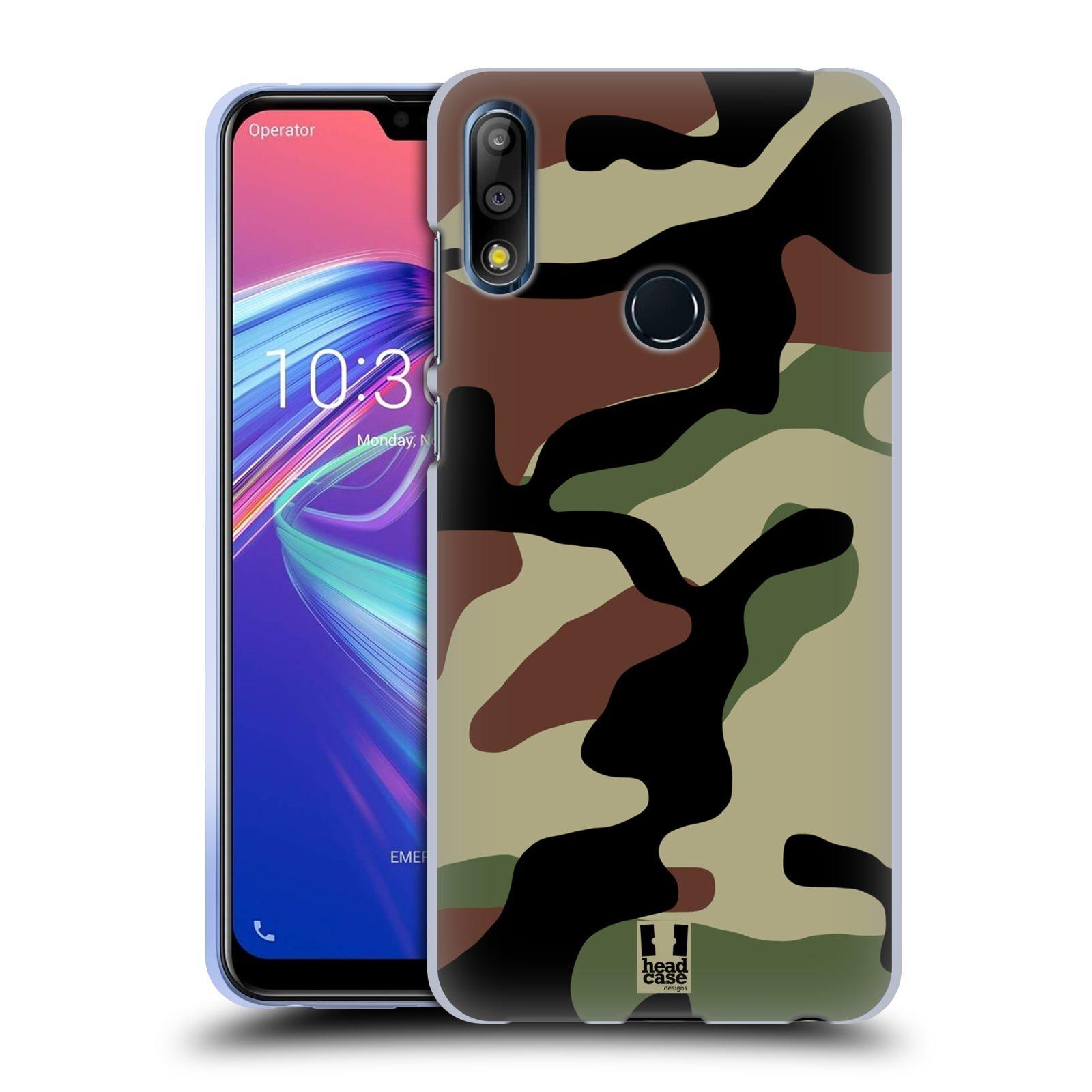 Silikonové pouzdro na mobil Asus Zenfone Max Pro M2 ZB631KL - Head Case - Maskáče