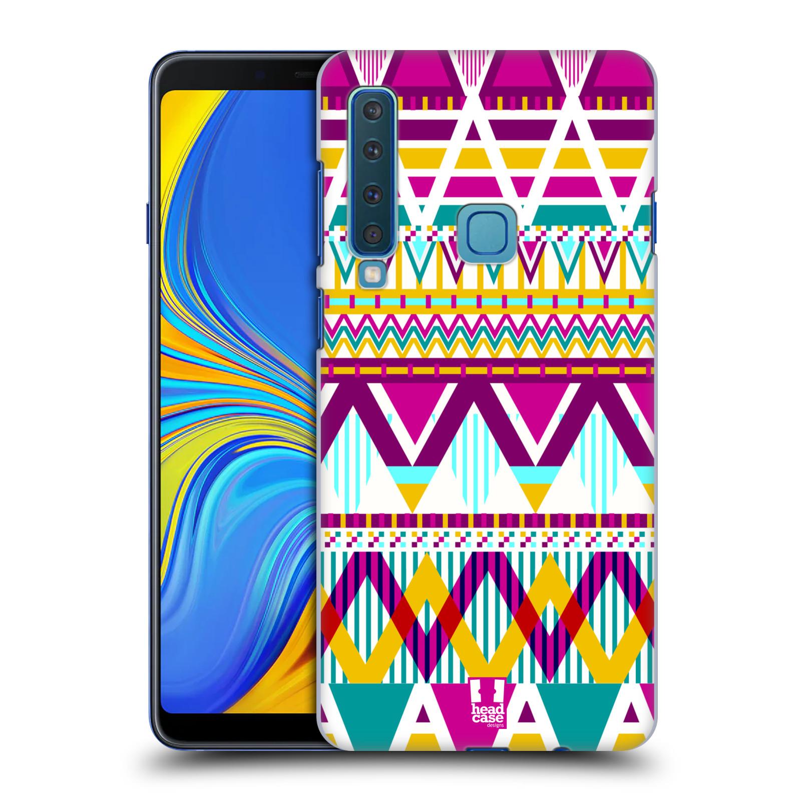 Plastové pouzdro na mobil Samsung Galaxy A9 (2018) - Head Case - AZTEC SUGARED