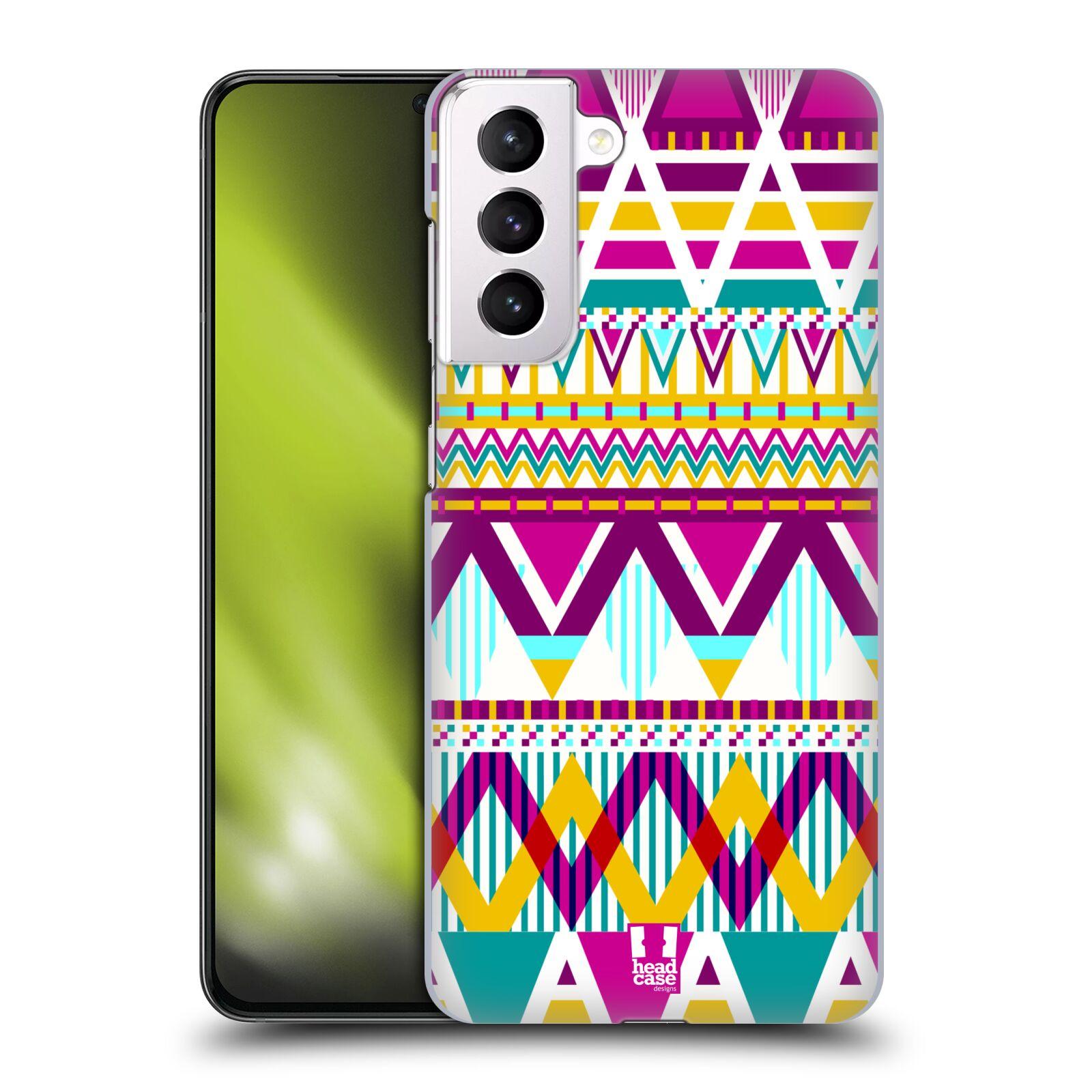 Plastové pouzdro na mobil Samsung Galaxy S21 Plus 5G - Head Case - AZTEC SUGARED