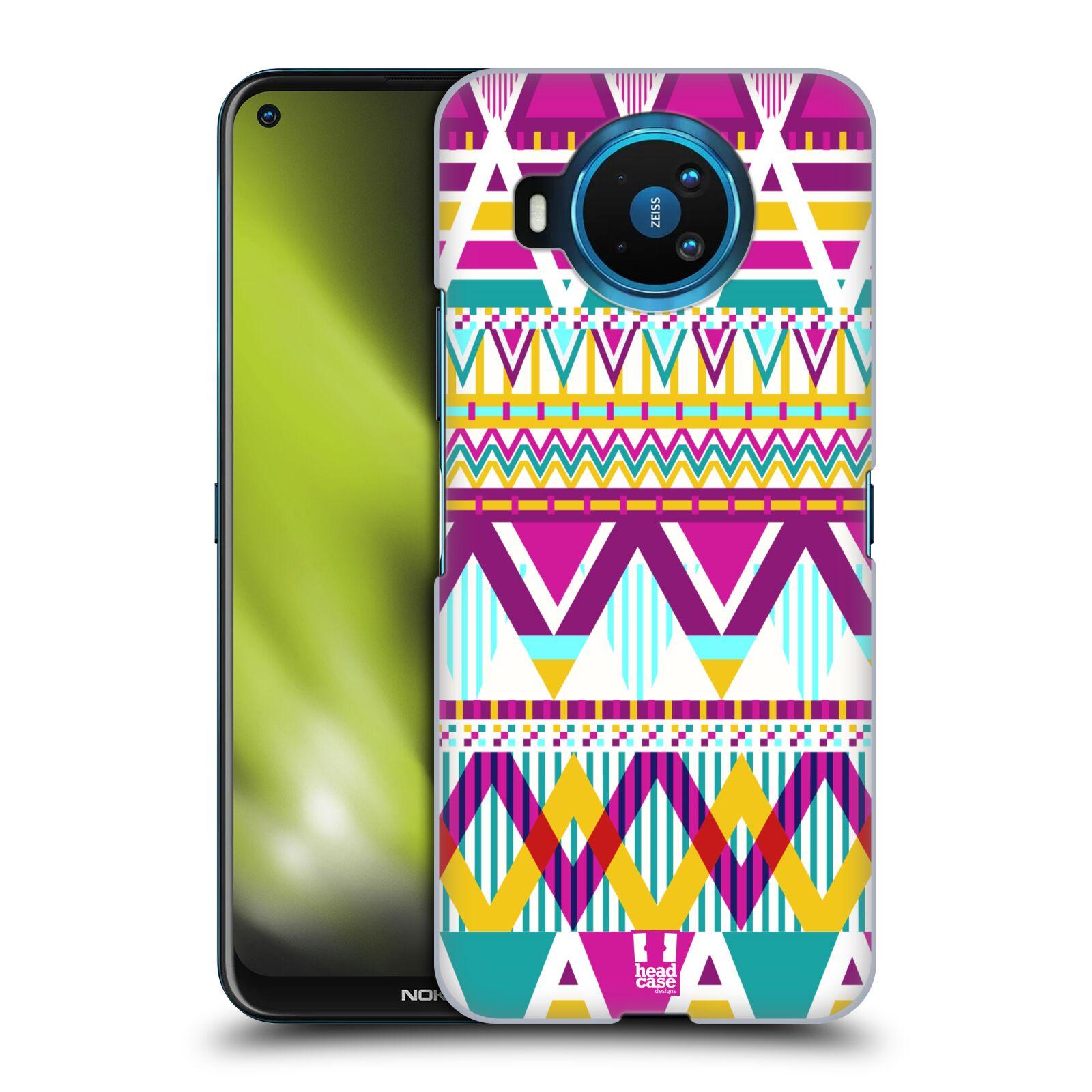 Plastové pouzdro na mobil Nokia 8.3 5G - Head Case - AZTEC SUGARED