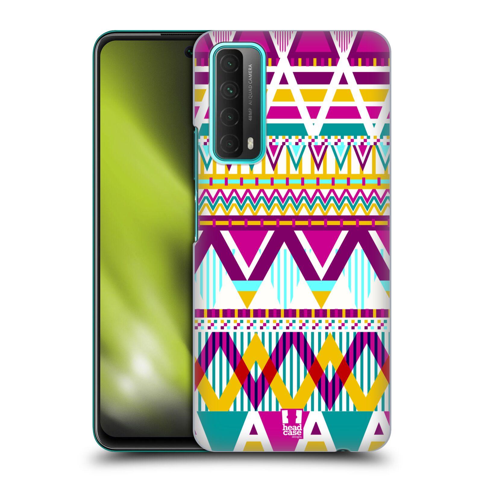 Plastové pouzdro na mobil Huawei P Smart (2021) - Head Case - AZTEC SUGARED