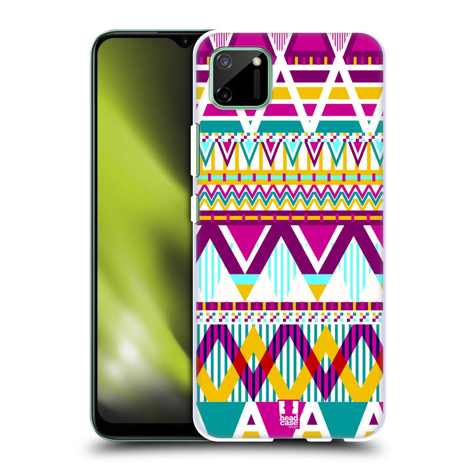 Plastové pouzdro na mobil Realme C11 - Head Case - AZTEC SUGARED
