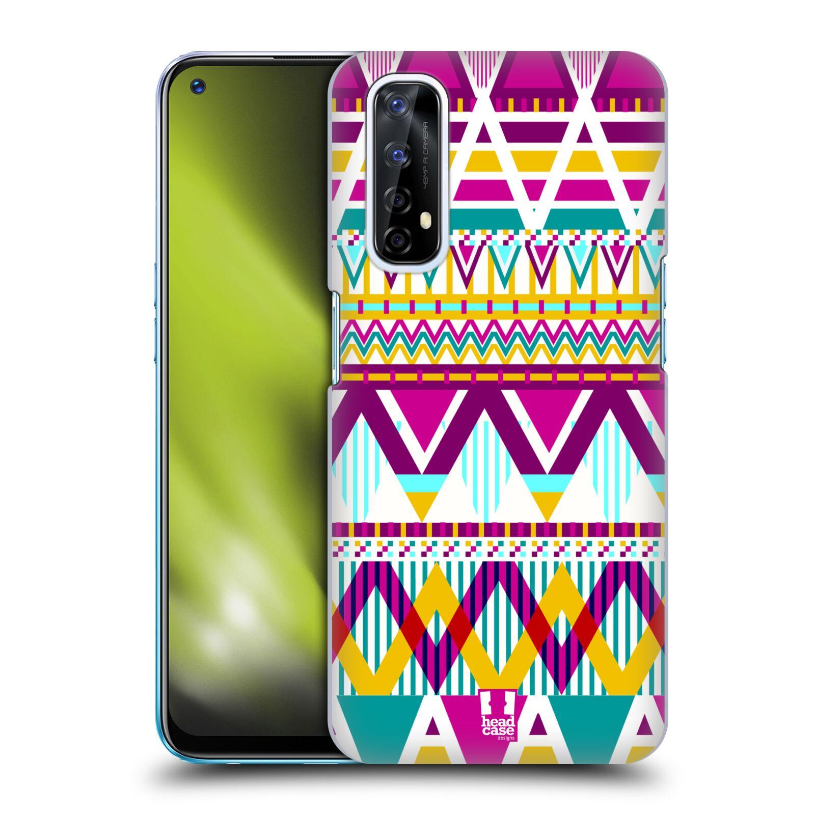 Plastové pouzdro na mobil Realme 7 - Head Case - AZTEC SUGARED
