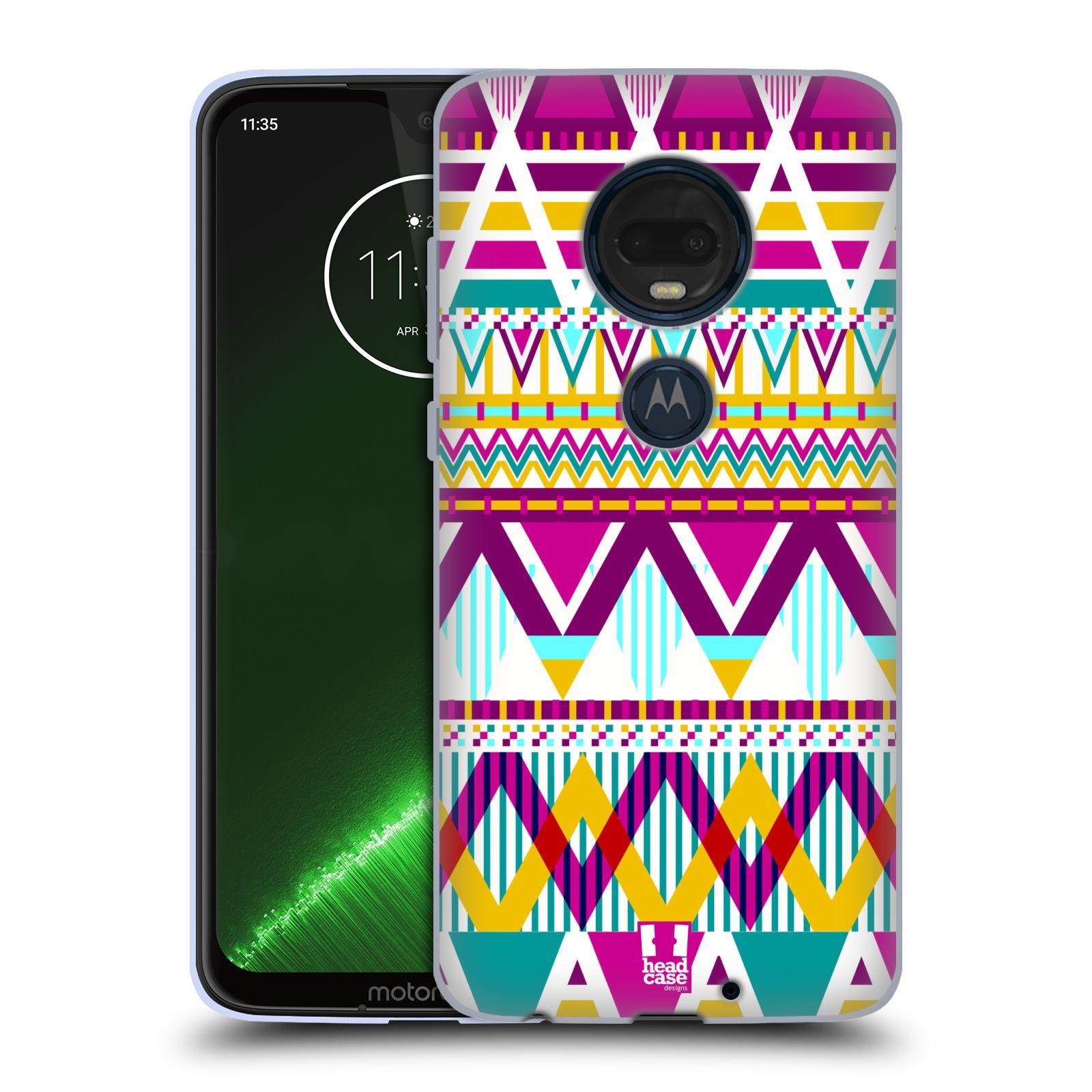 Silikonové pouzdro na mobil Motorola Moto G7 Plus - Head Case - AZTEC SUGARED