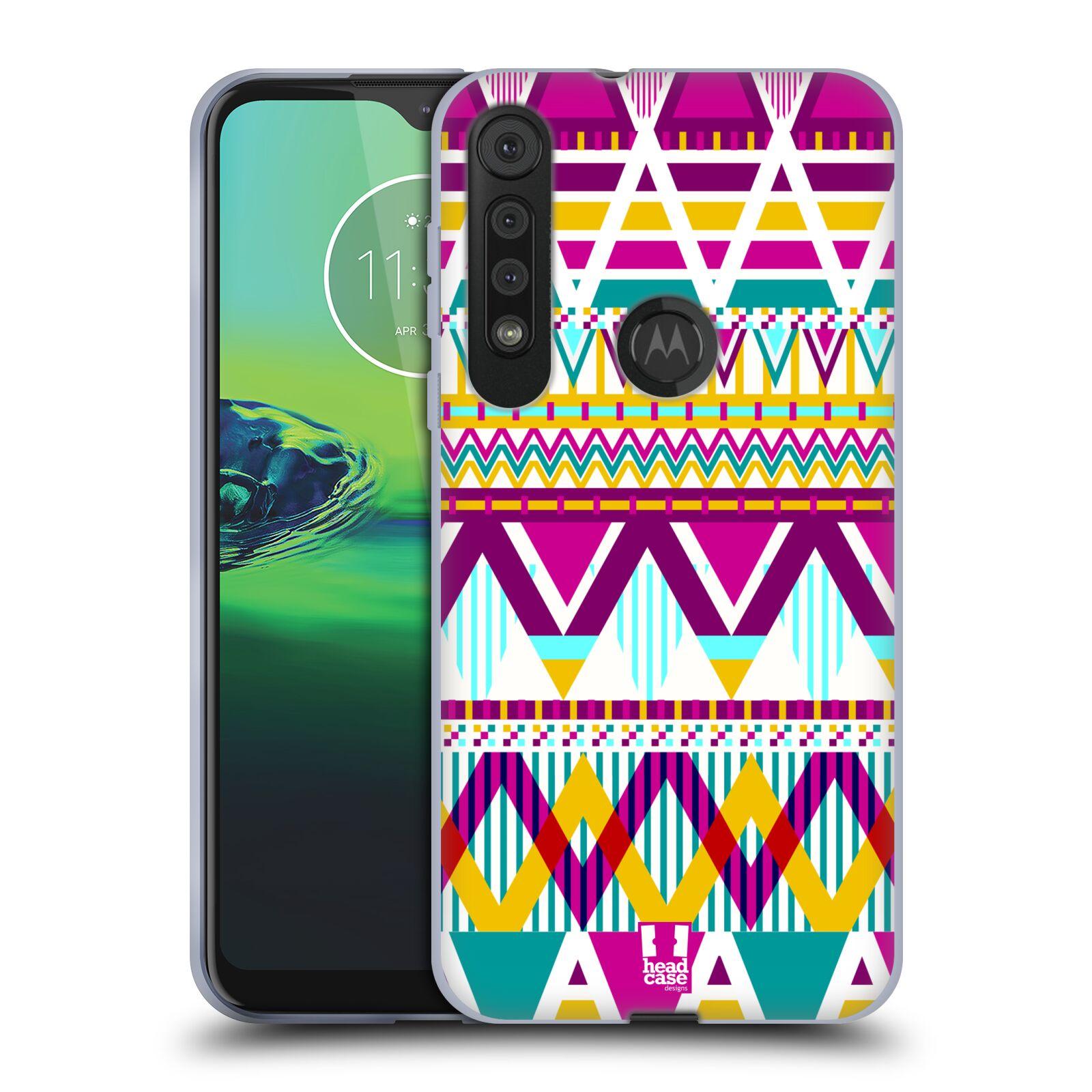 Silikonové pouzdro na mobil Motorola One Macro - Head Case - AZTEC SUGARED