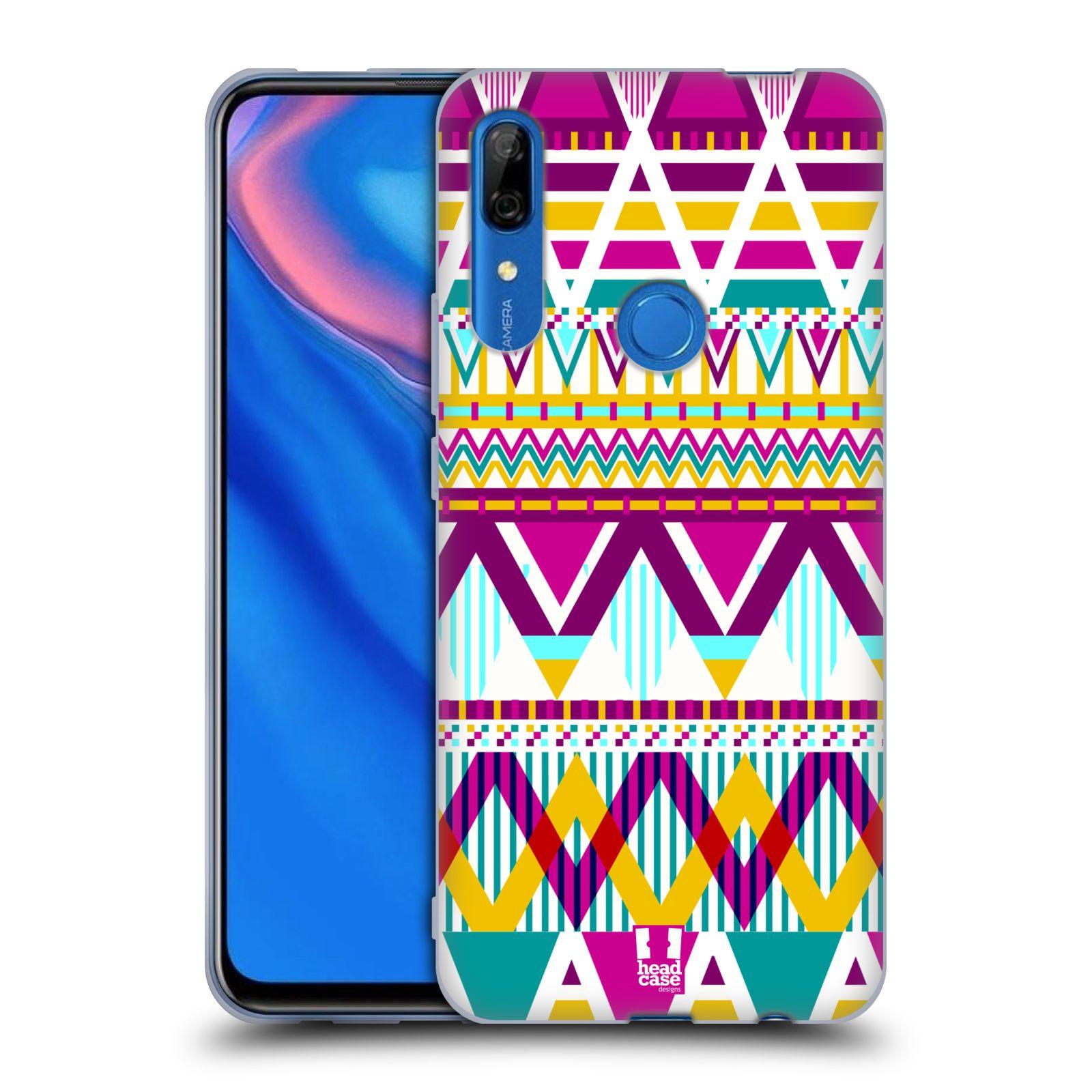 Silikonové pouzdro na mobil Huawei P Smart Z - Head Case - AZTEC SUGARED