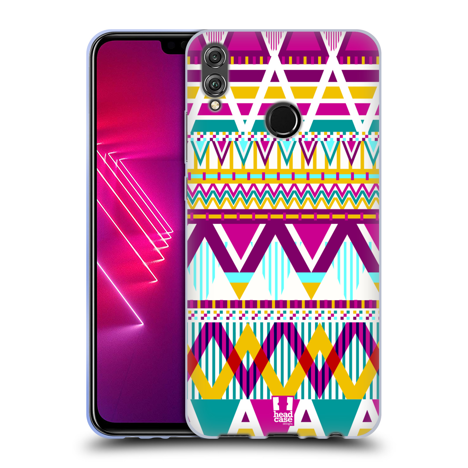 Silikonové pouzdro na mobil Honor View 10 Lite - Head Case - AZTEC SUGARED