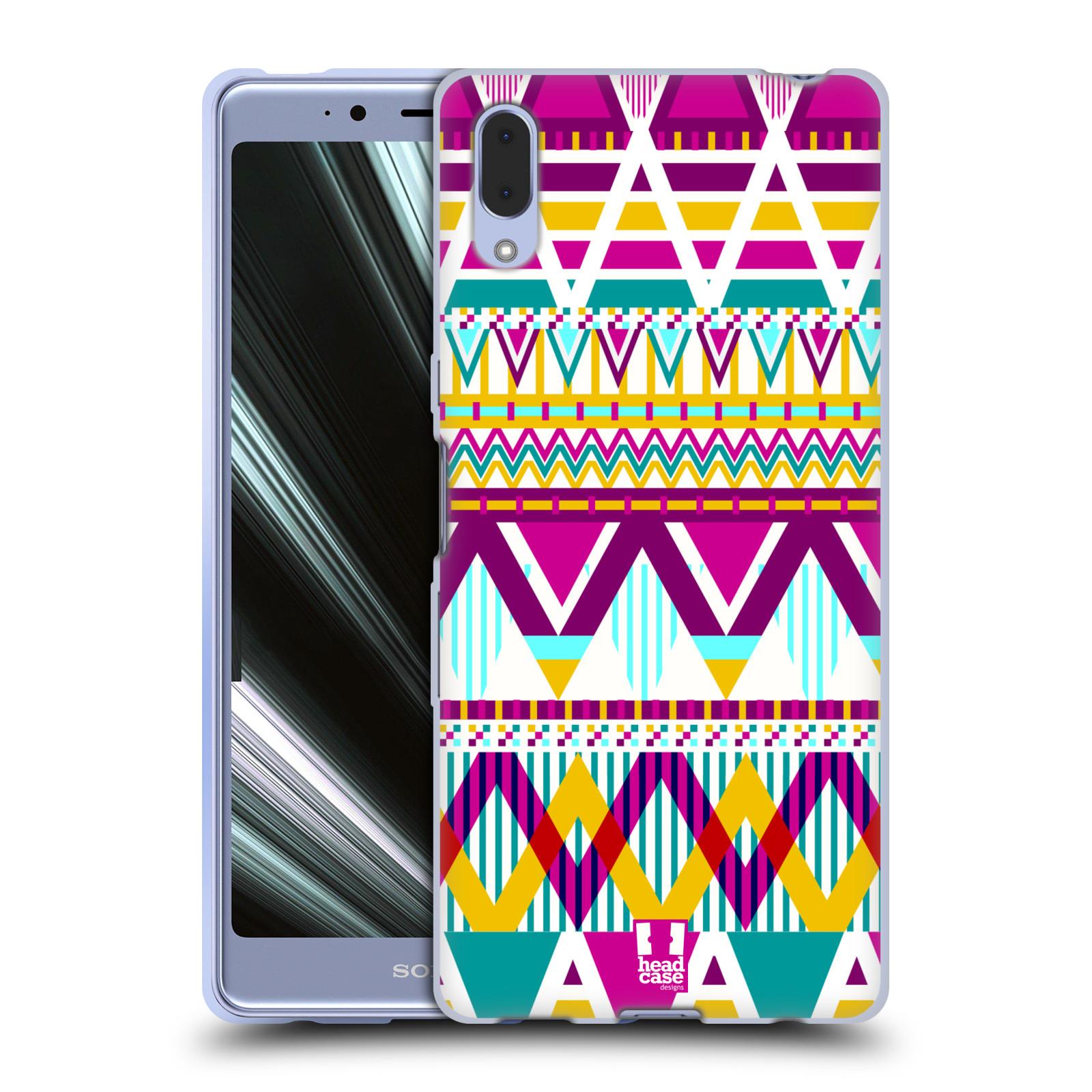 Silikonové pouzdro na mobil Sony Xperia L3 - Head Case - AZTEC SUGARED
