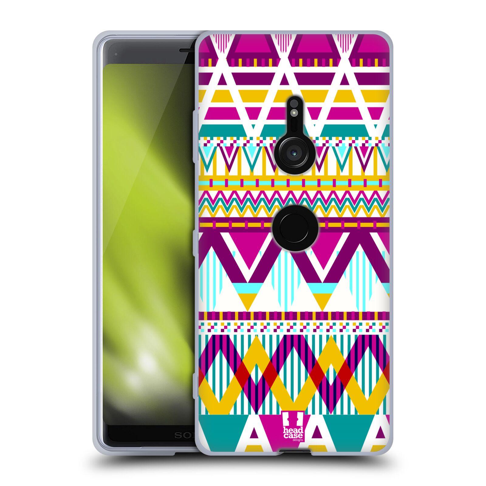 Silikonové pouzdro na mobil Sony Xperia XZ3 - Head Case - AZTEC SUGARED