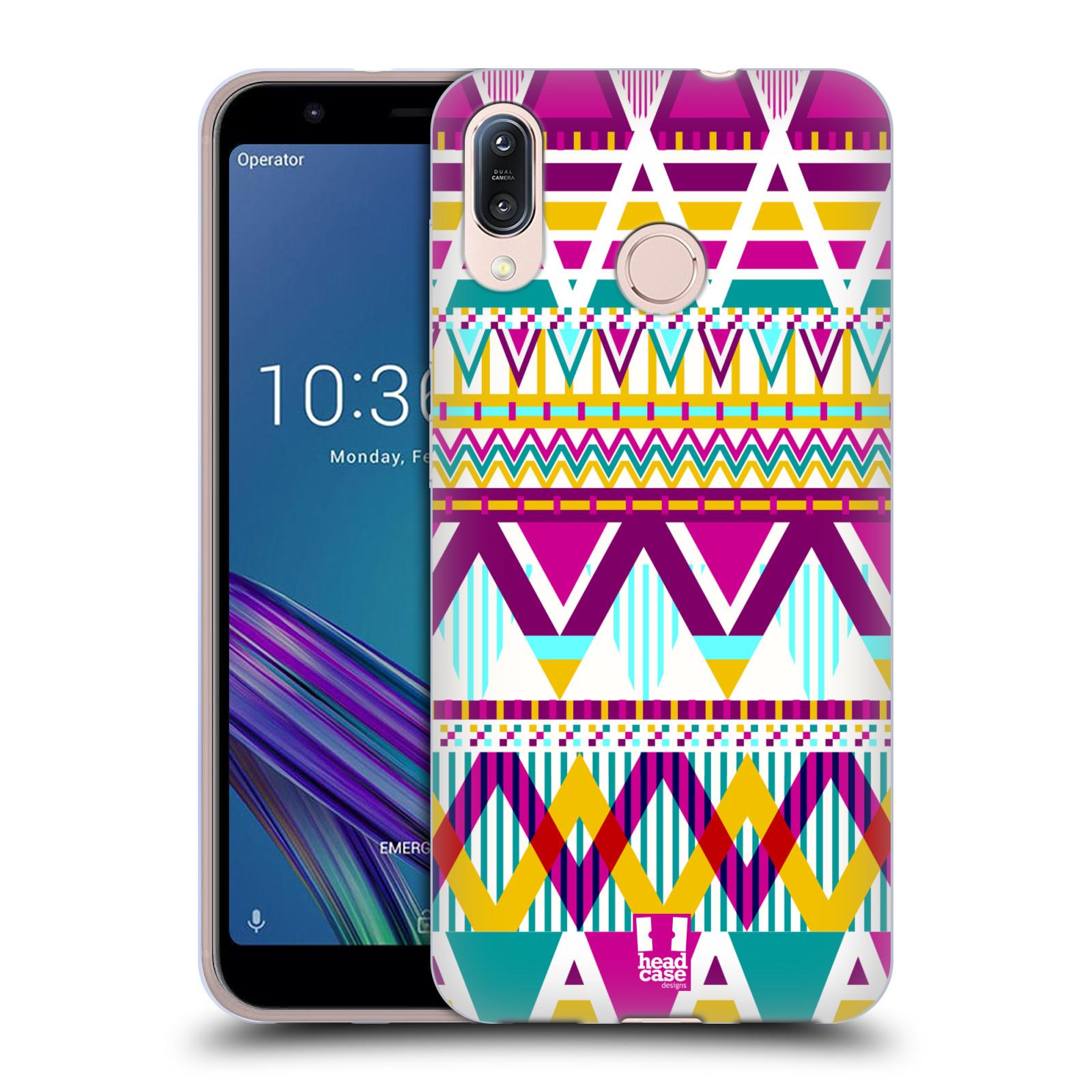 Silikonové pouzdro na mobil Asus Zenfone Max M1 ZB555KL - Head Case - AZTEC SUGARED