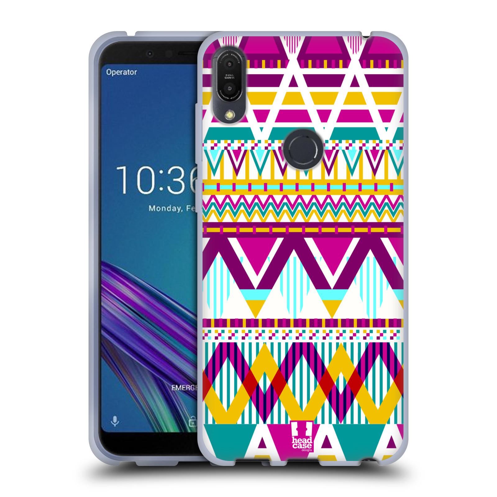 Silikonové pouzdro na mobil Asus ZenFone Max Pro (M1) - Head Case - AZTEC SUGARED