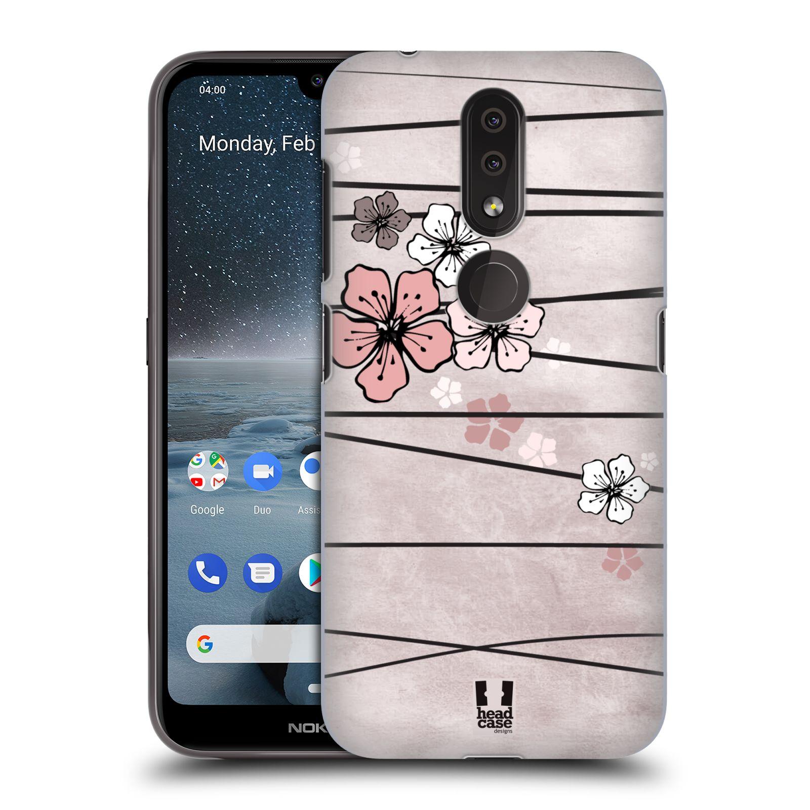 Plastové pouzdro na mobil Nokia 4.2 - Head Case - BLOSSOMS PAPER