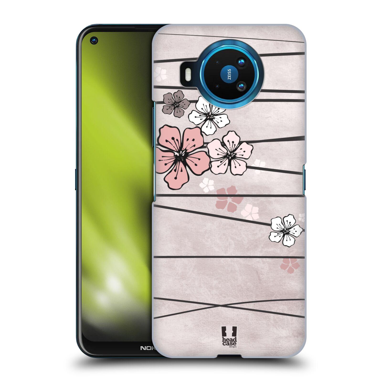 Plastové pouzdro na mobil Nokia 8.3 5G - Head Case - BLOSSOMS PAPER