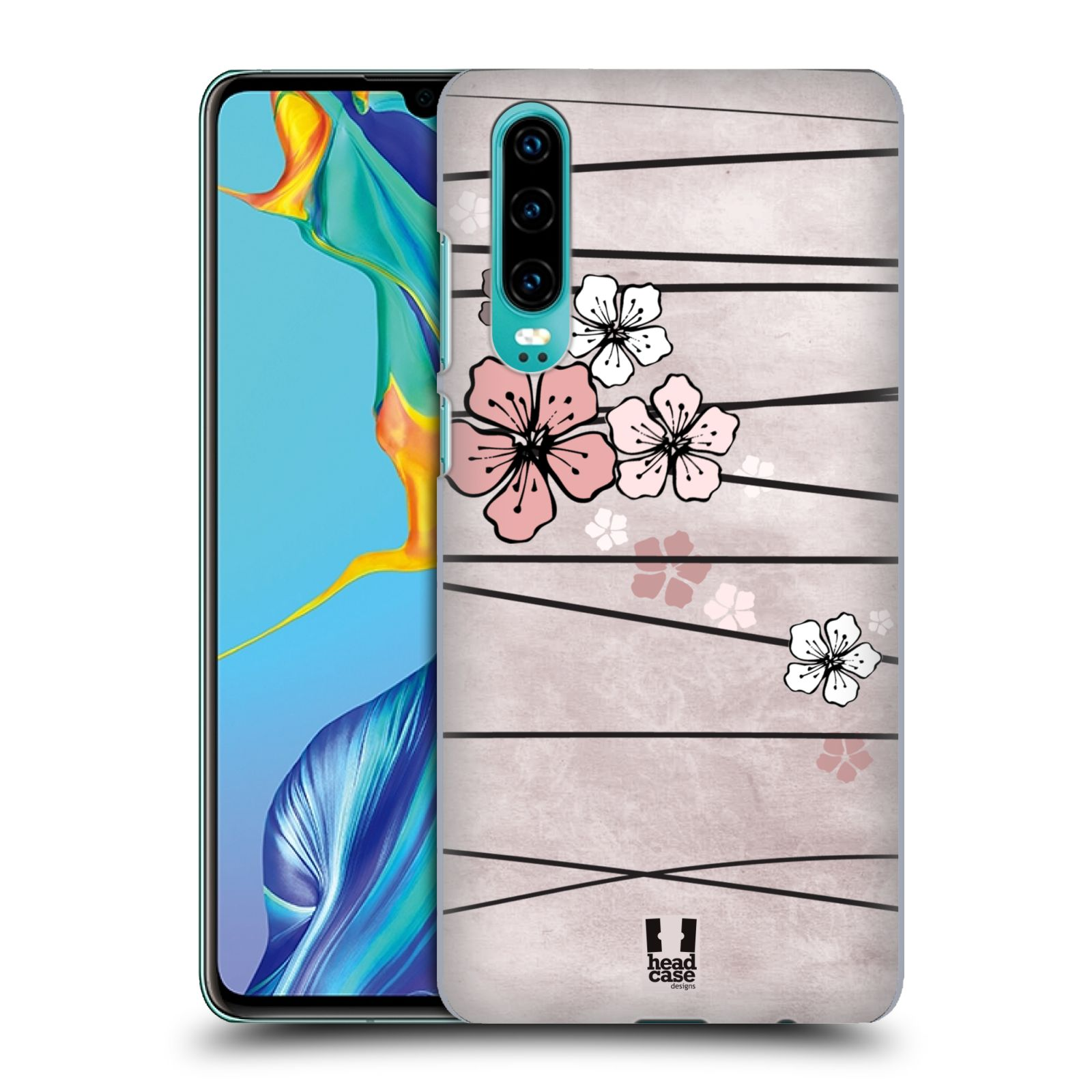 Plastové pouzdro na mobil Huawei P30 - Head Case - BLOSSOMS PAPER