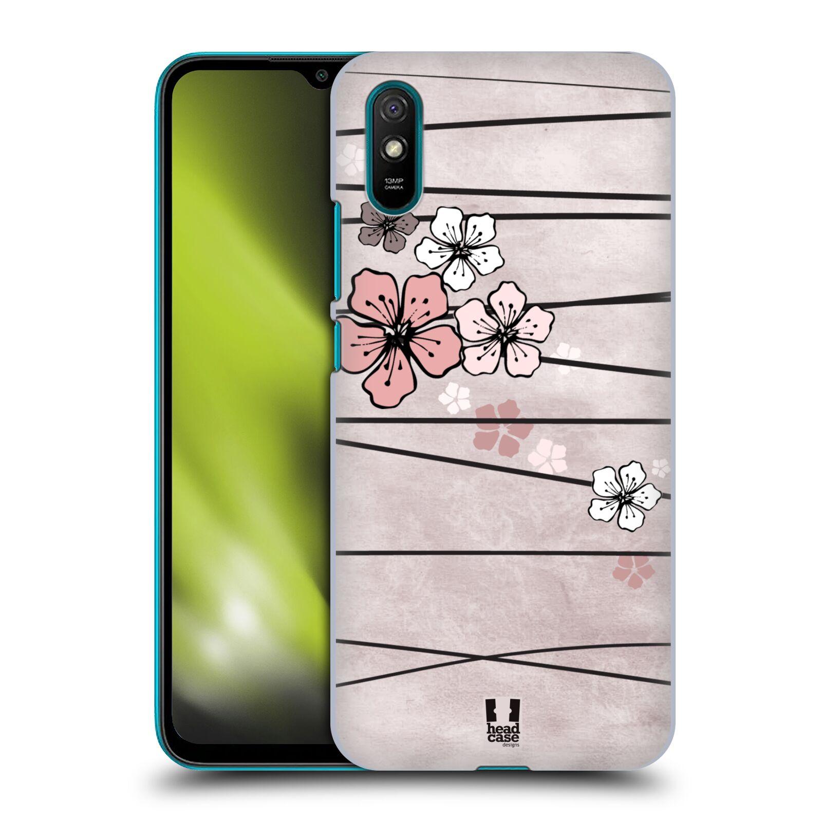 Plastové pouzdro na mobil Xiaomi Redmi 9A / Xiaomi Redmi 9AT - Head Case - BLOSSOMS PAPER