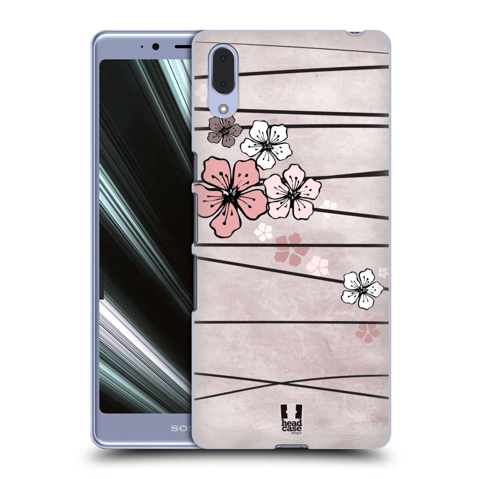 Plastové pouzdro na mobil Sony Xperia L3 - Head Case - BLOSSOMS PAPER