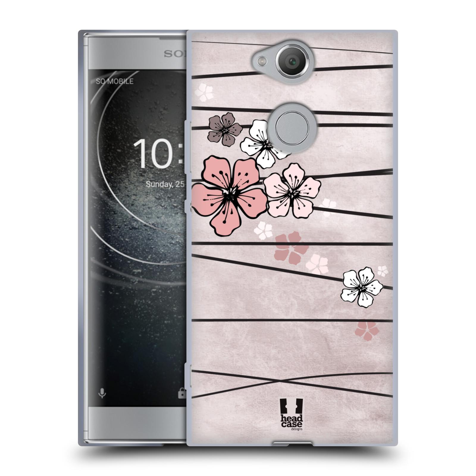 Silikonové pouzdro na mobil Sony Xperia XA2 - Head Case - BLOSSOMS PAPER