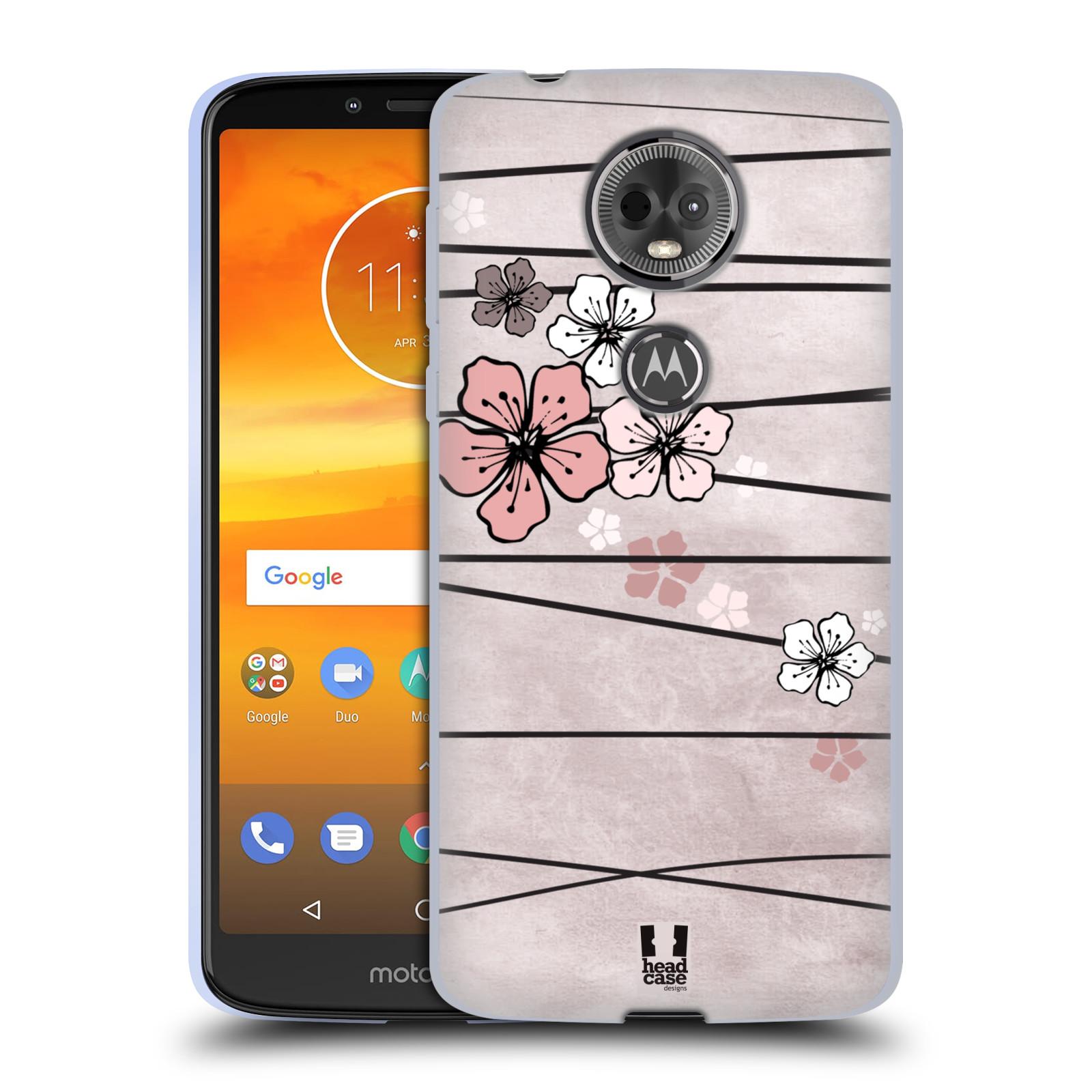 Silikonové pouzdro na mobil Motorola Moto E5 Plus - Head Case - BLOSSOMS PAPER
