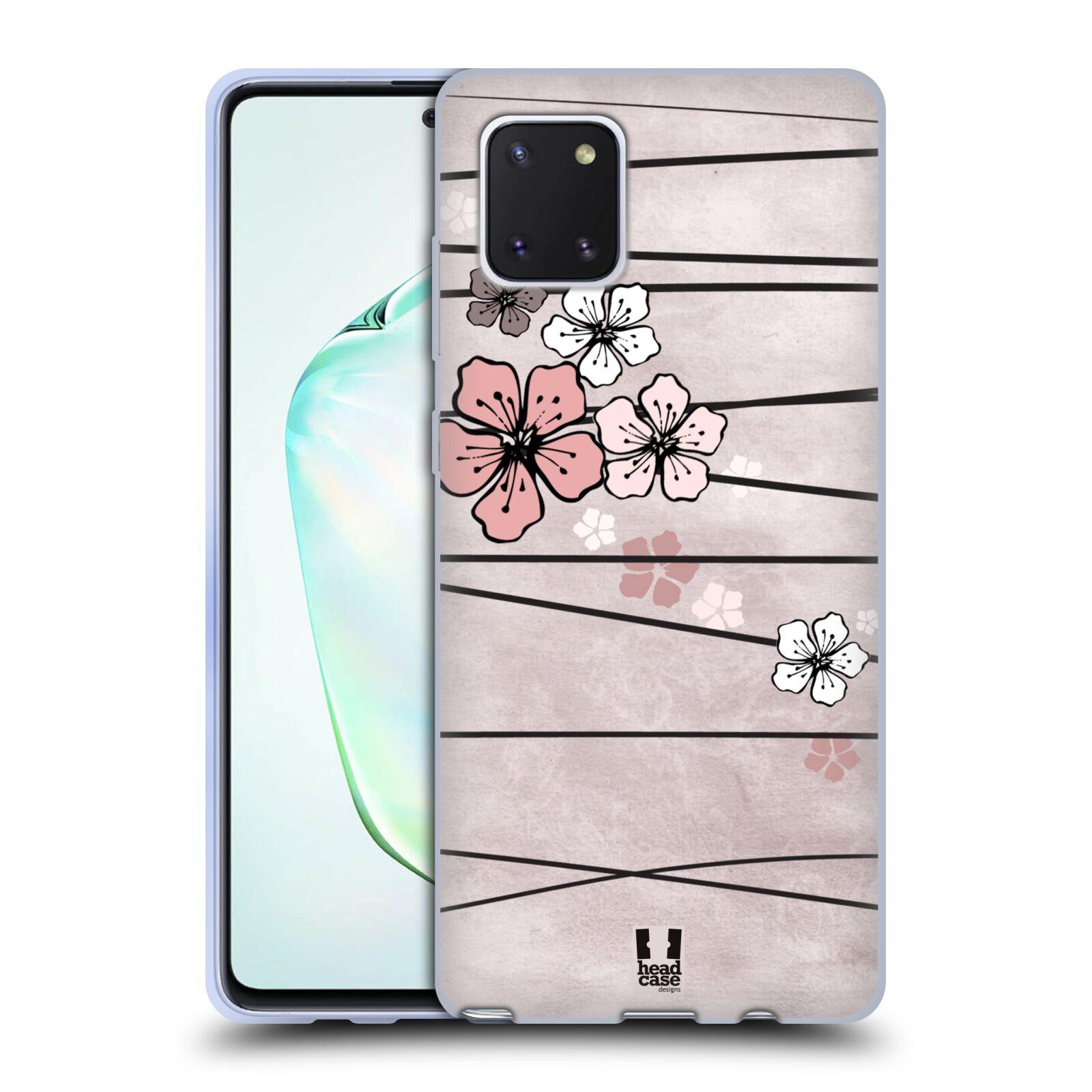 Silikonové pouzdro na mobil Samsung Galaxy Note 10 Lite - Head Case - BLOSSOMS PAPER