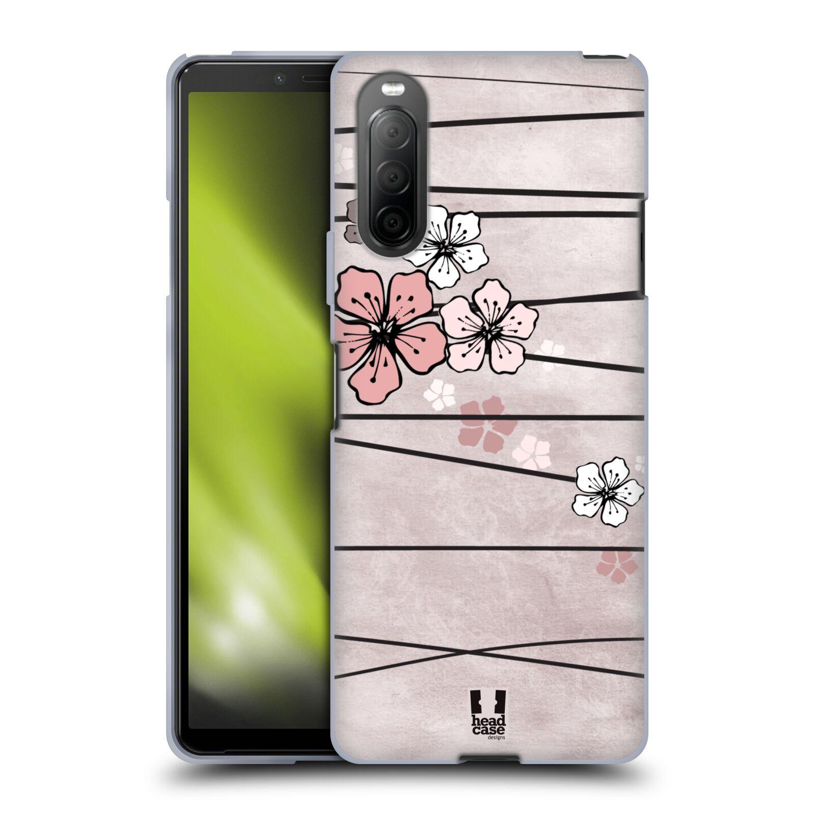 Silikonové pouzdro na mobil Sony Xperia 10 II - Head Case - BLOSSOMS PAPER