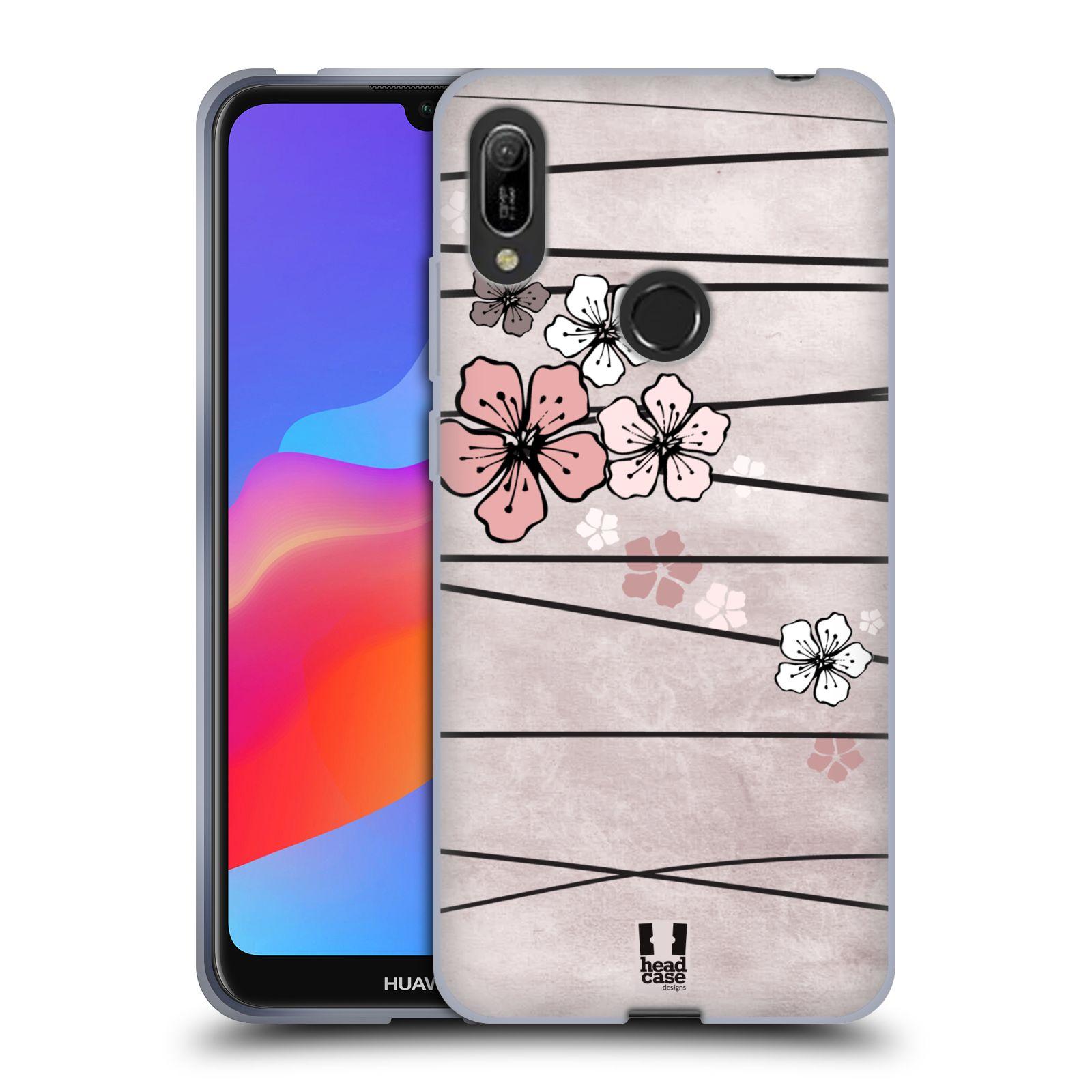 Silikonové pouzdro na mobil Huawei Y6 (2019) - Head Case - BLOSSOMS PAPER