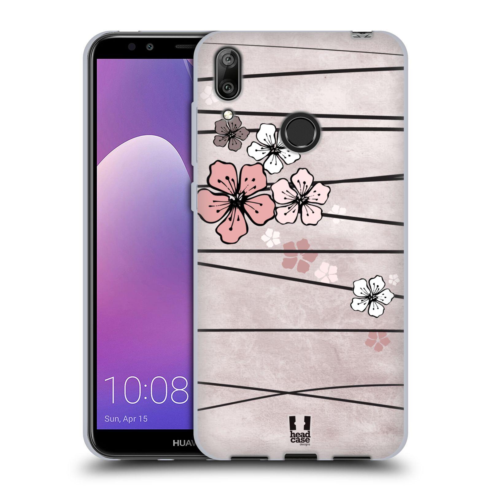 Silikonové pouzdro na mobil Huawei Y7 (2019) - Head Case - BLOSSOMS PAPER