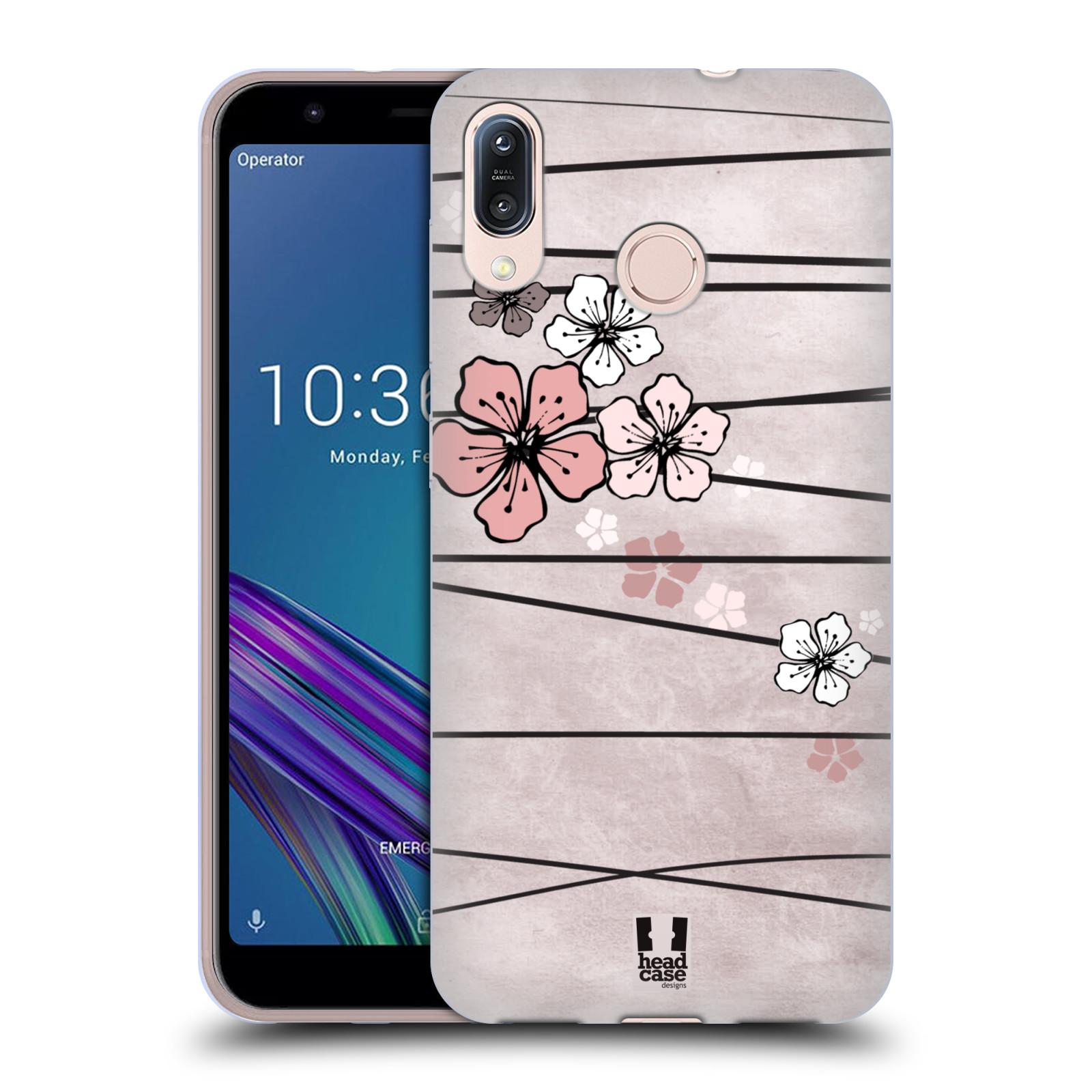 Silikonové pouzdro na mobil Asus Zenfone Max M1 ZB555KL - Head Case - BLOSSOMS PAPER