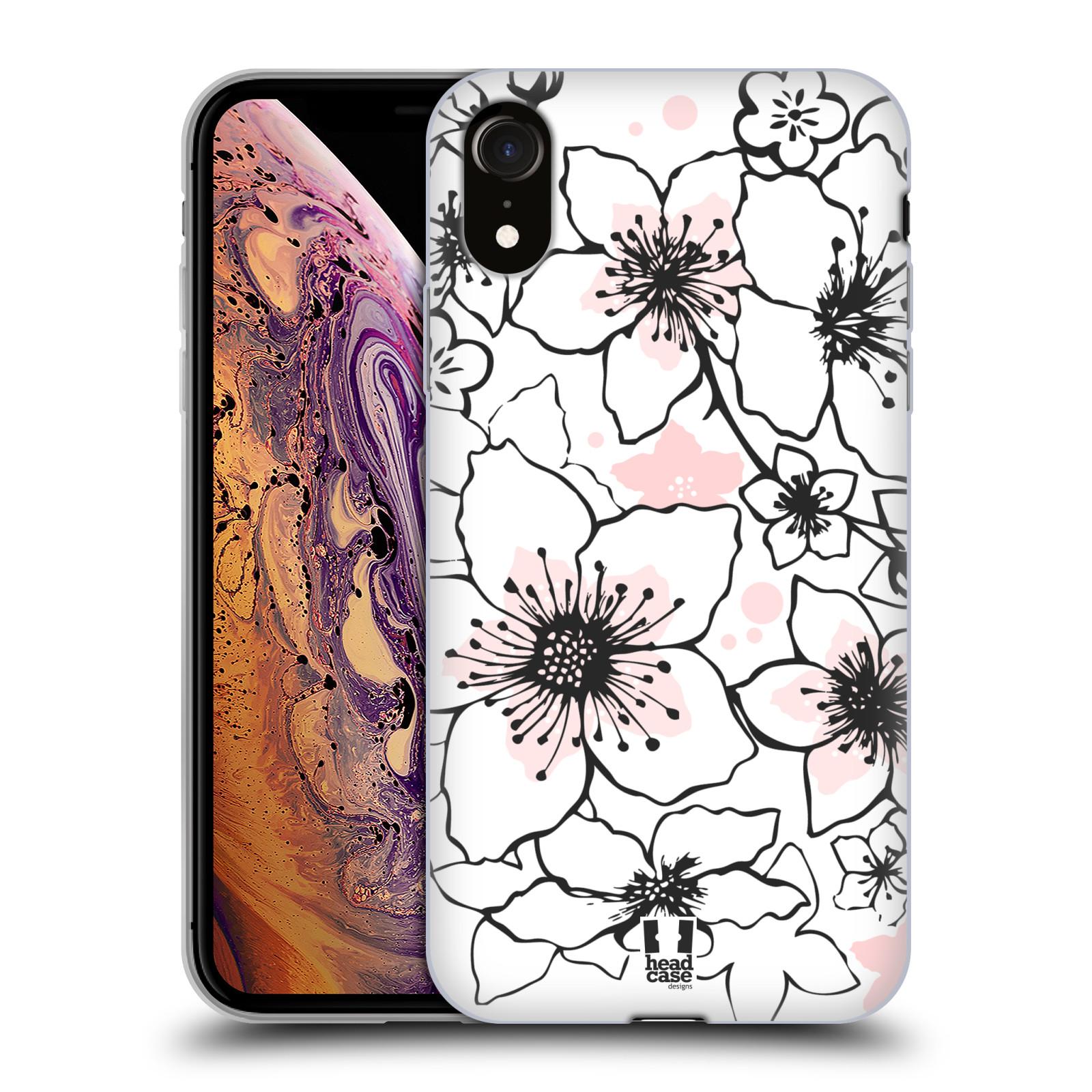 Silikonové pouzdro na mobil Apple iPhone XR - Head Case - BLOSSOMS SPRINGTIME