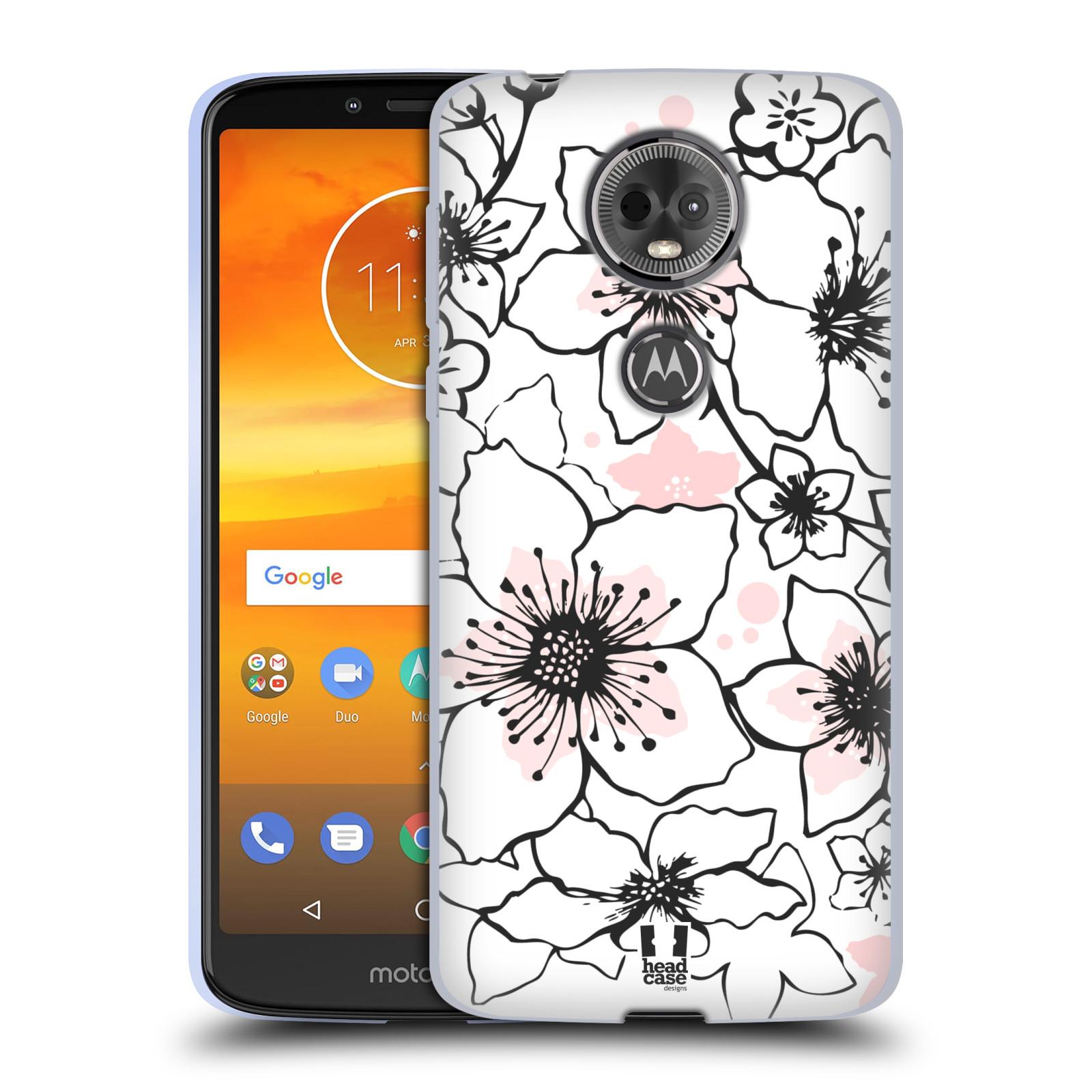 Silikonové pouzdro na mobil Motorola Moto E5 Plus - Head Case - BLOSSOMS SPRINGTIME