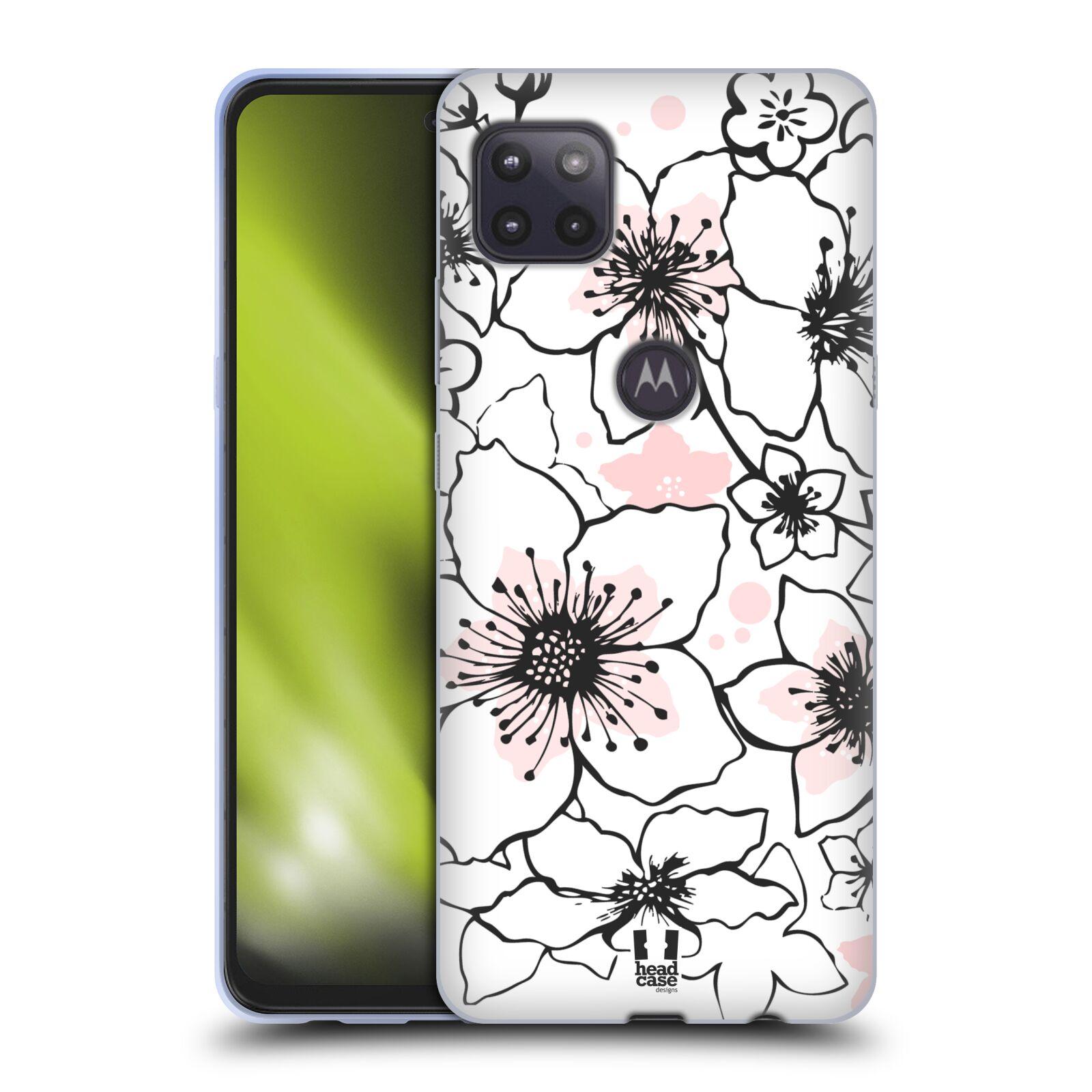 Silikonové pouzdro na mobil Motorola Moto G 5G - Head Case - BLOSSOMS SPRINGTIME