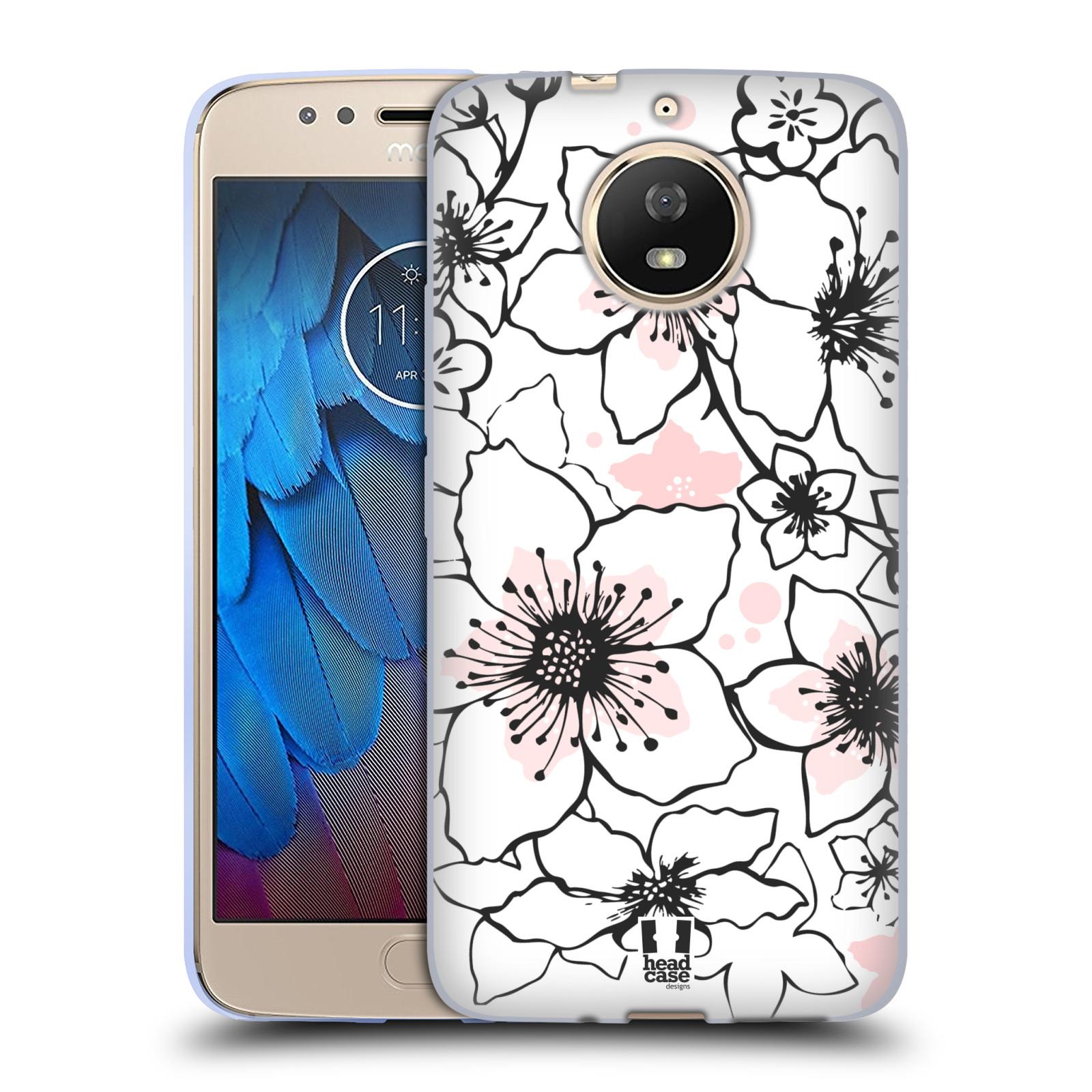 Silikonové pouzdro na mobil Lenovo Moto G5s - Head Case - BLOSSOMS SPRINGTIME