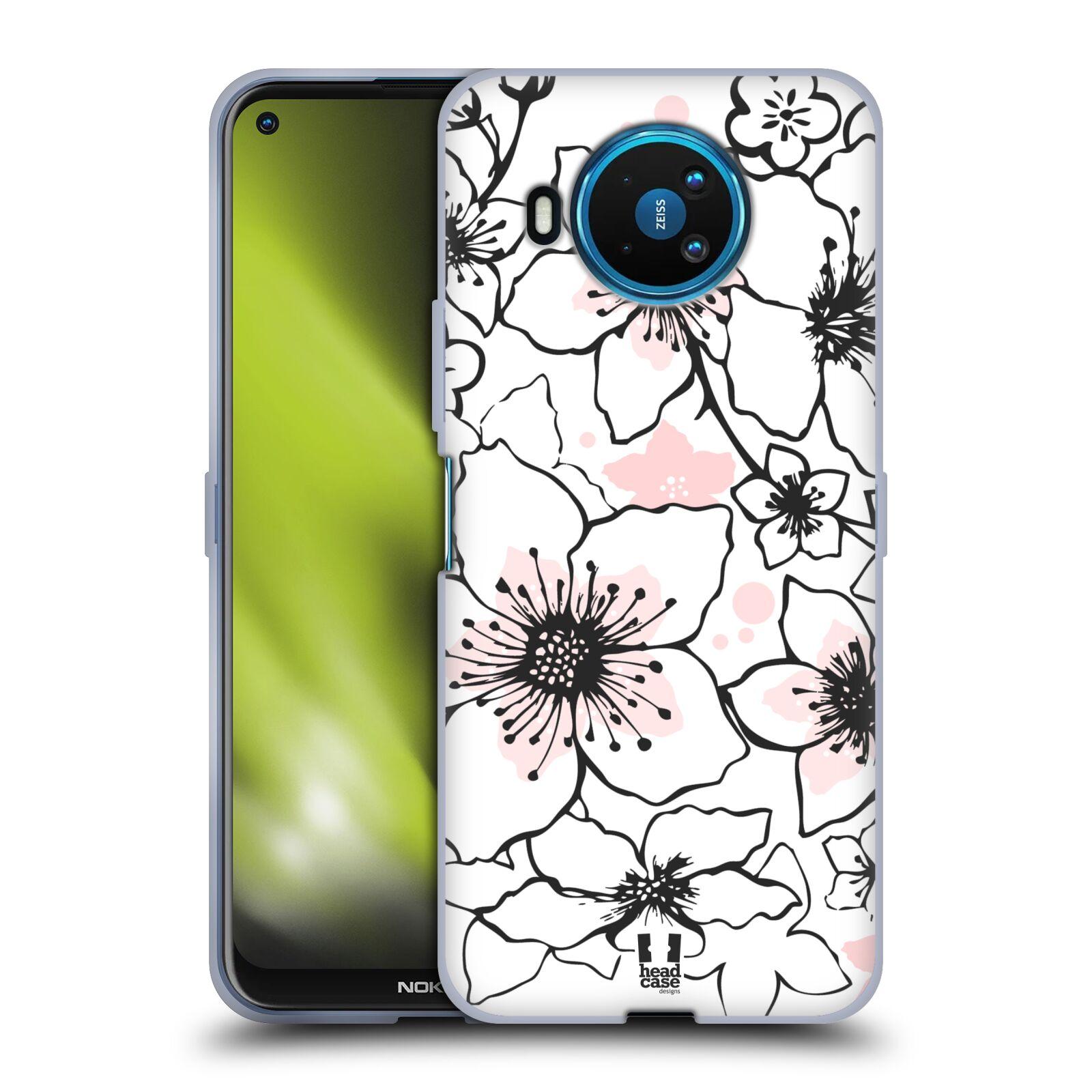 Silikonové pouzdro na mobil Nokia 8.3 5G - Head Case - BLOSSOMS SPRINGTIME