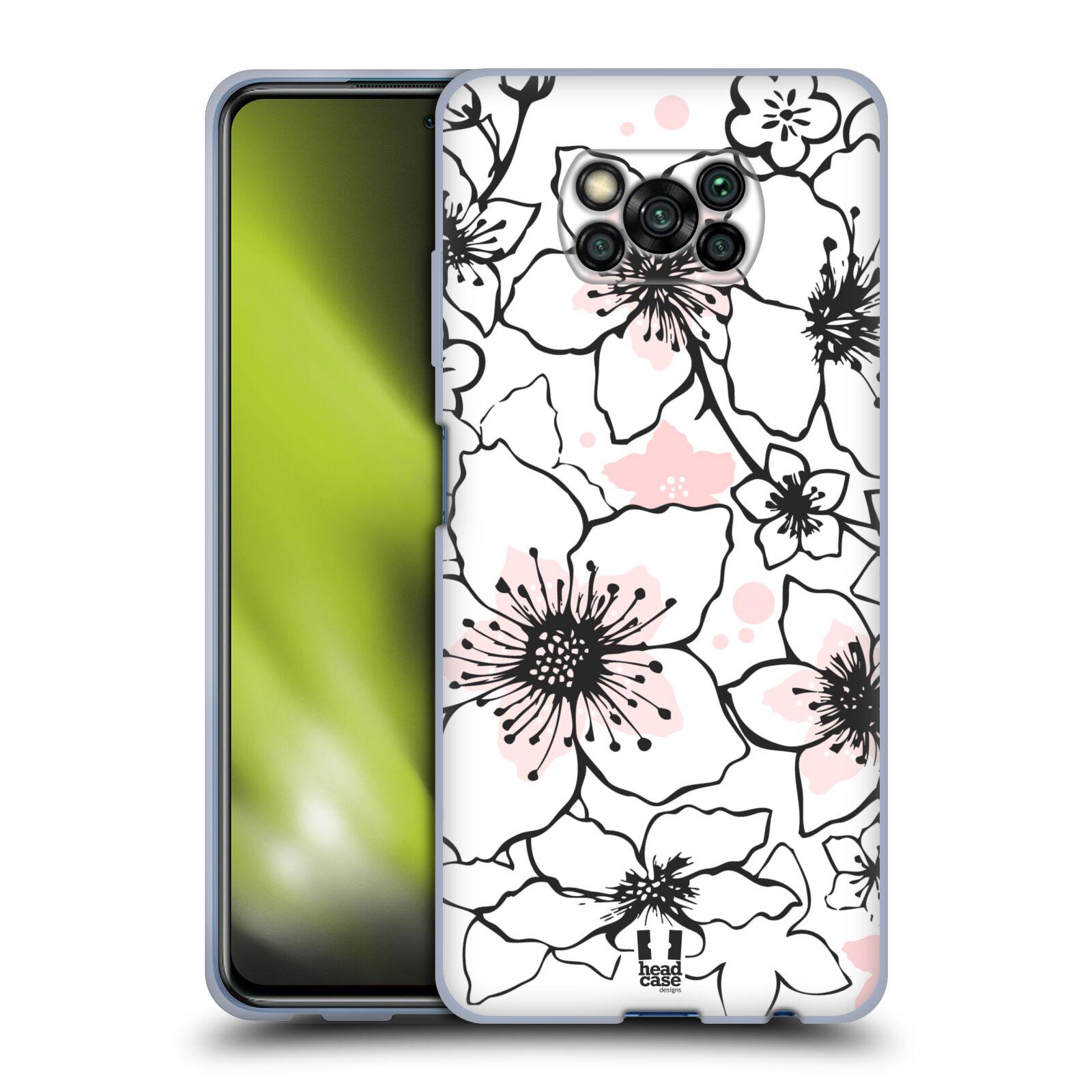 Silikonové pouzdro na mobil Xiaomi Poco X3 NFC - Head Case - BLOSSOMS SPRINGTIME