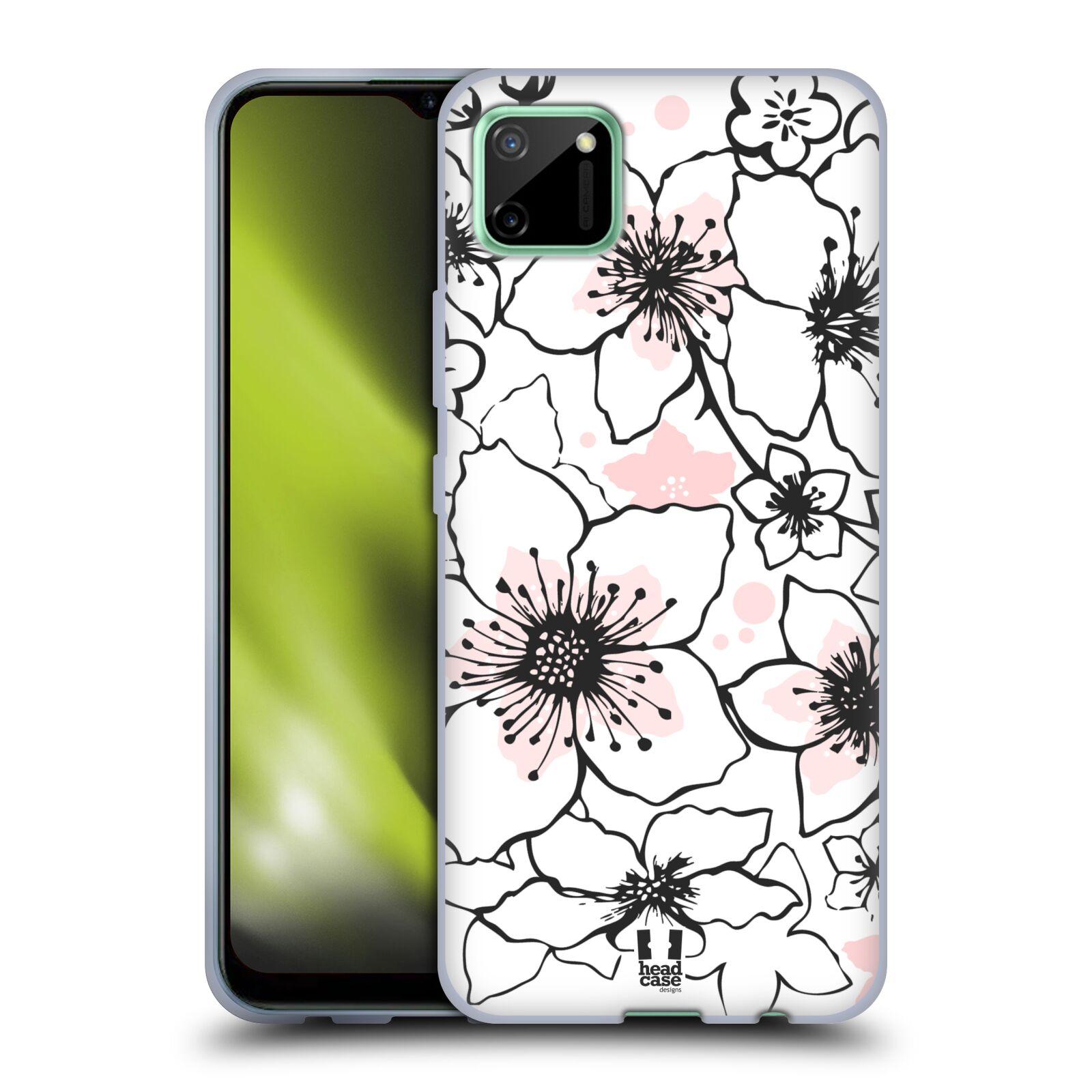 Silikonové pouzdro na mobil Realme C11 - Head Case - BLOSSOMS SPRINGTIME