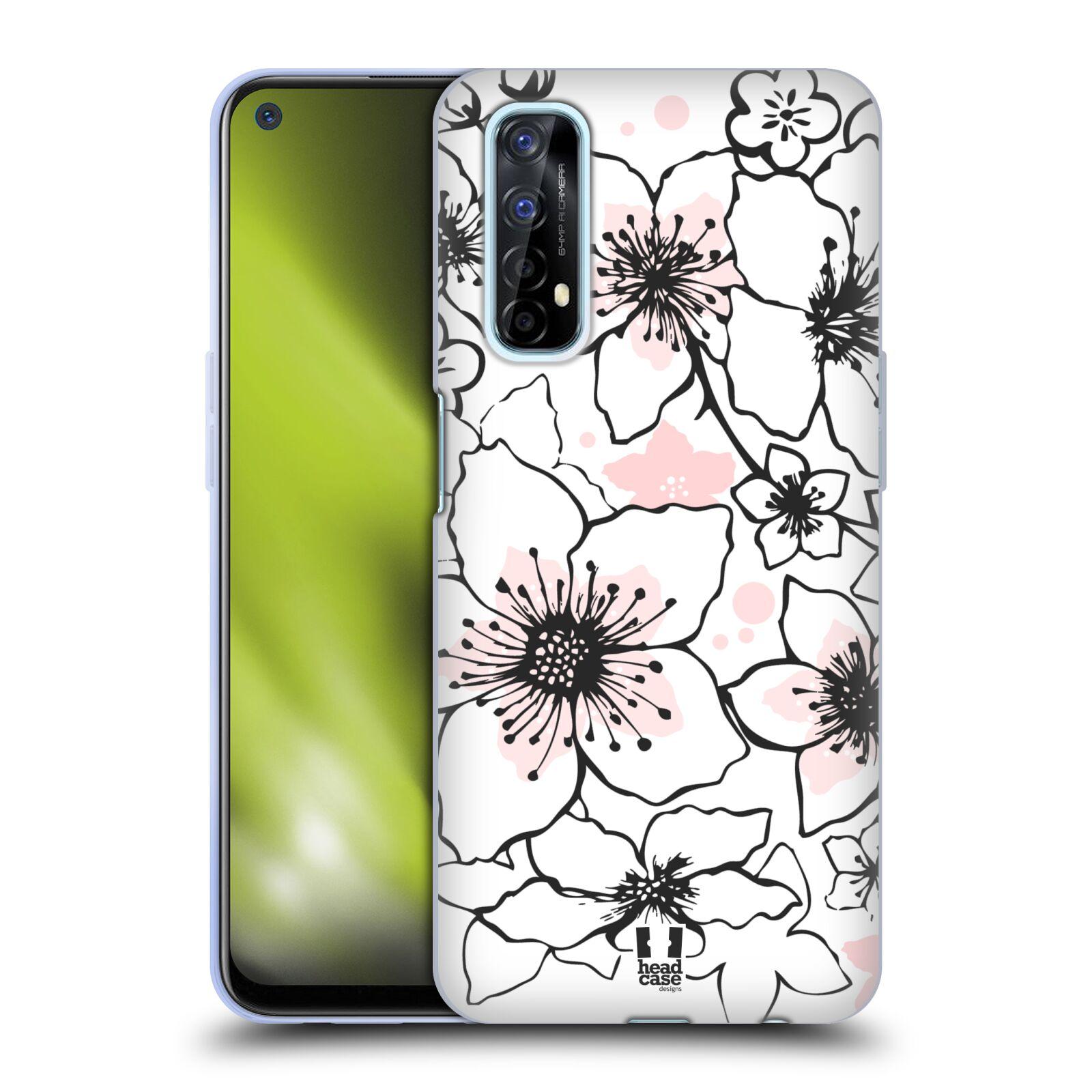 Silikonové pouzdro na mobil Realme 7 - Head Case - BLOSSOMS SPRINGTIME