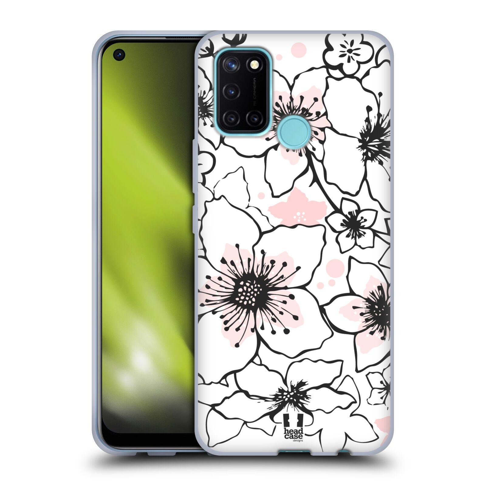 Silikonové pouzdro na mobil Realme 7i - Head Case - BLOSSOMS SPRINGTIME